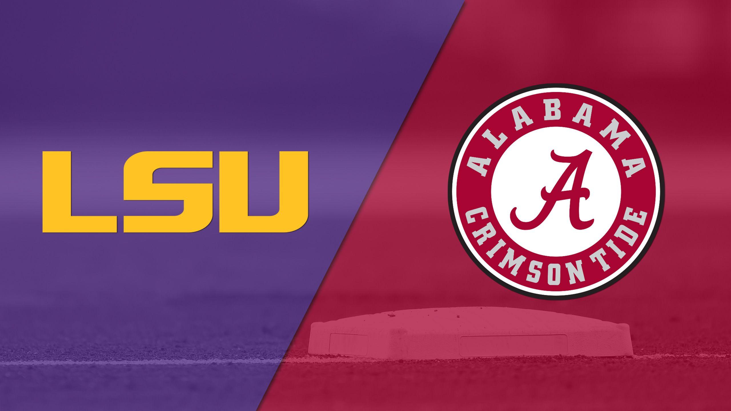 #8 LSU vs. #11 Alabama (Softball)