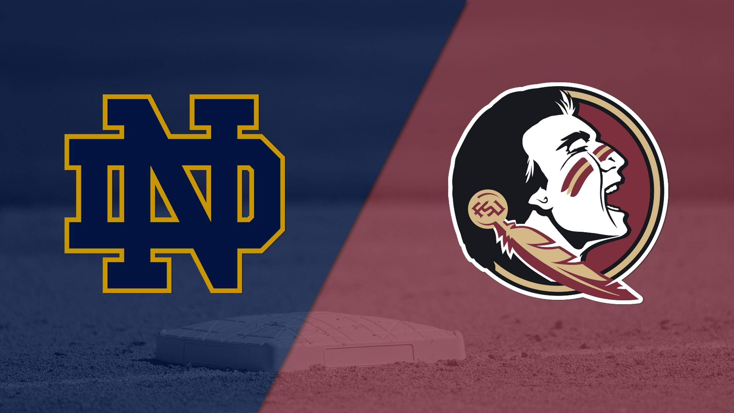 Notre Dame vs. #2 Florida State (Softball)