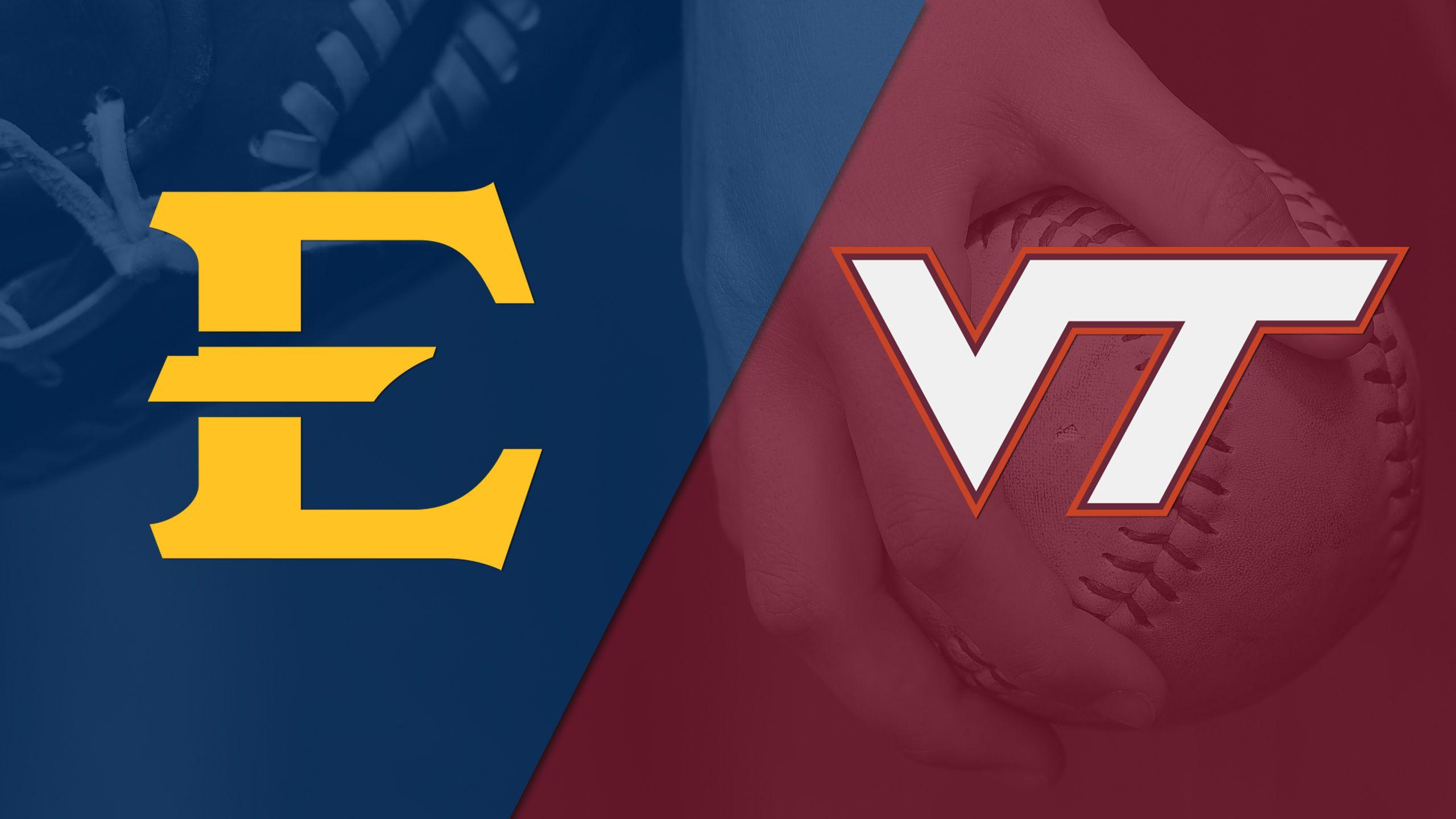 East Tennessee State vs. Virginia Tech (Softball)