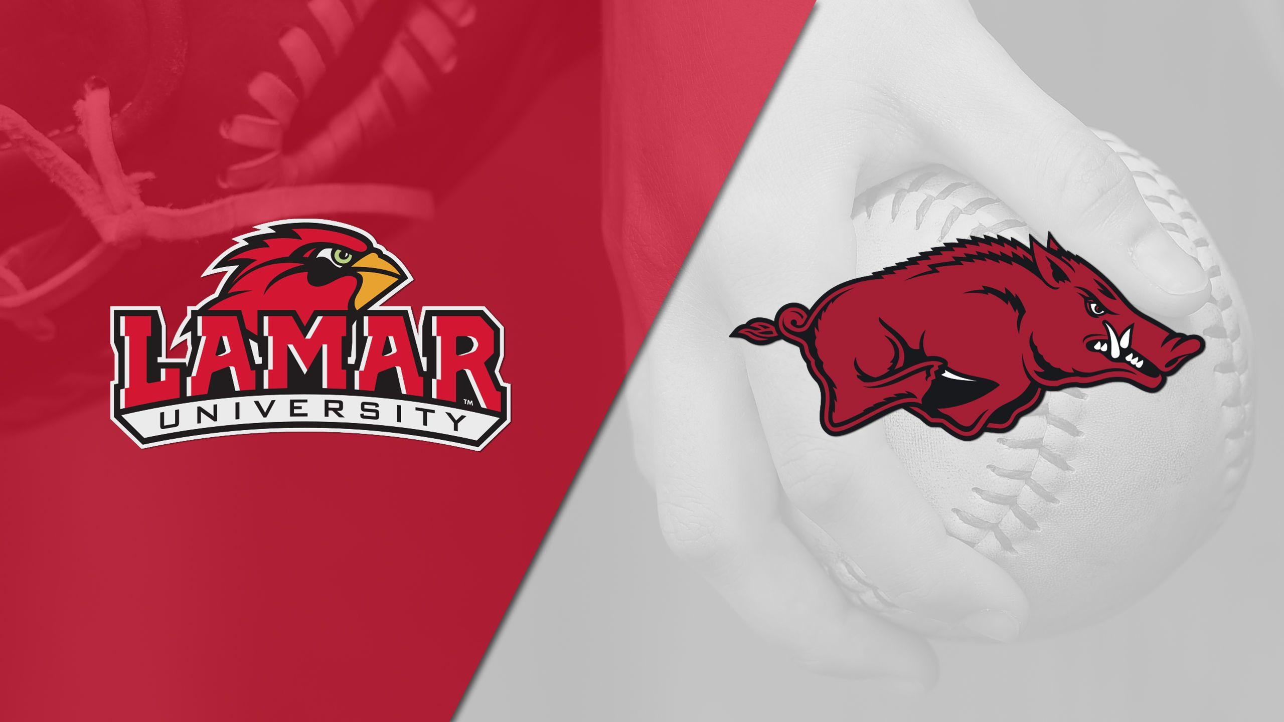 Lamar vs. Arkansas (Softball)