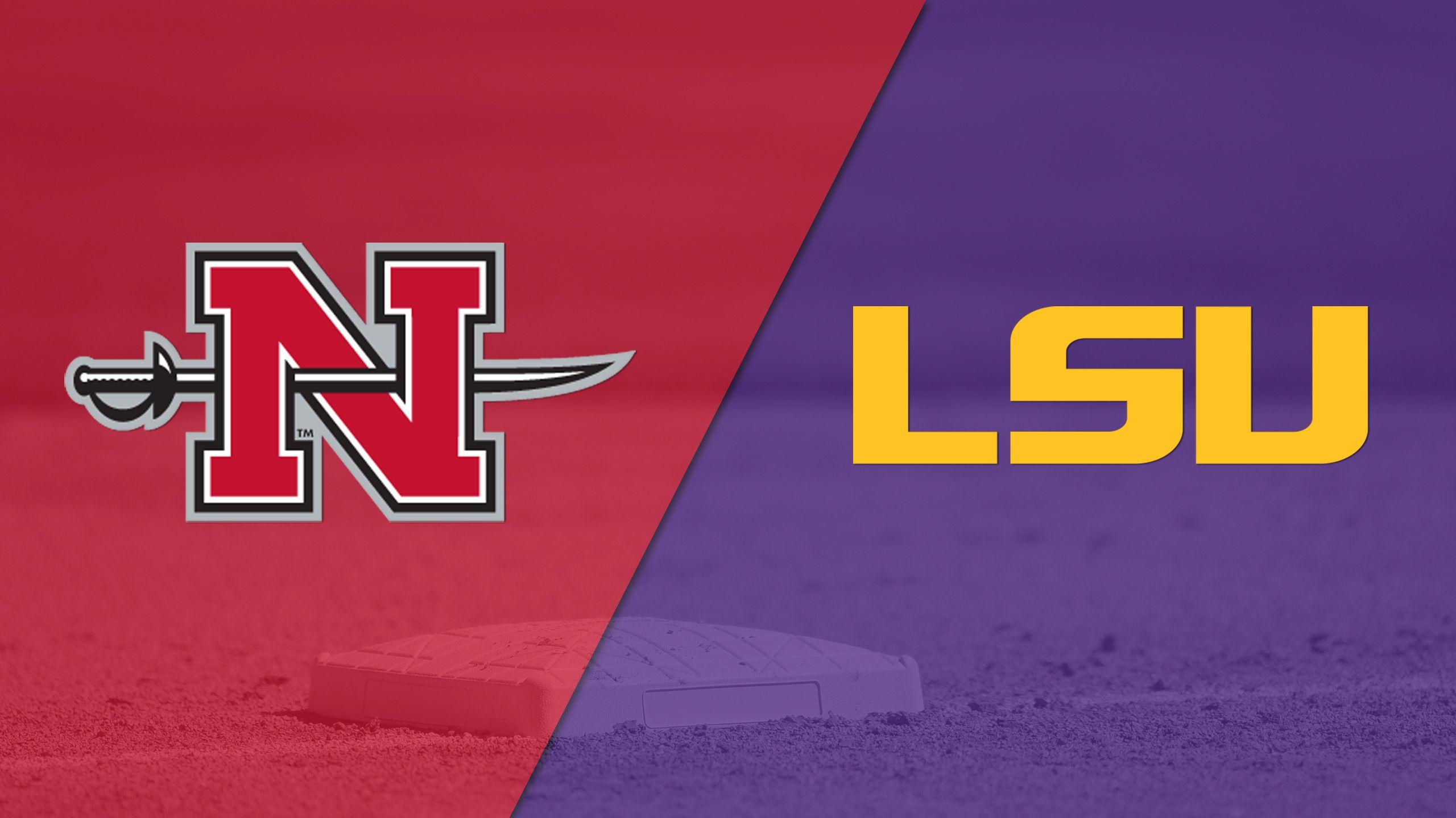 Nicholls vs. #11 LSU (Softball)