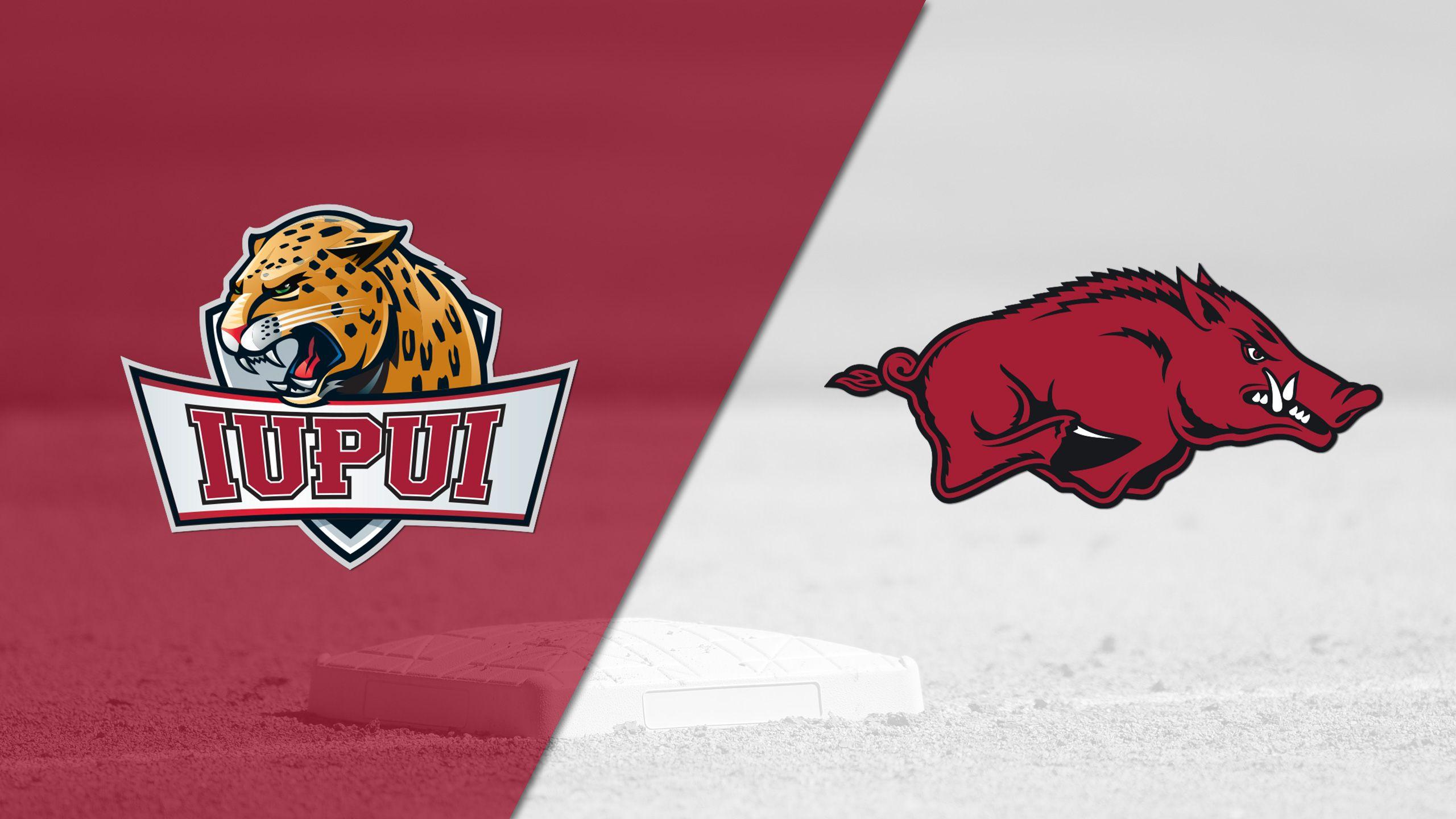 IUPUI vs. Arkansas (Softball)