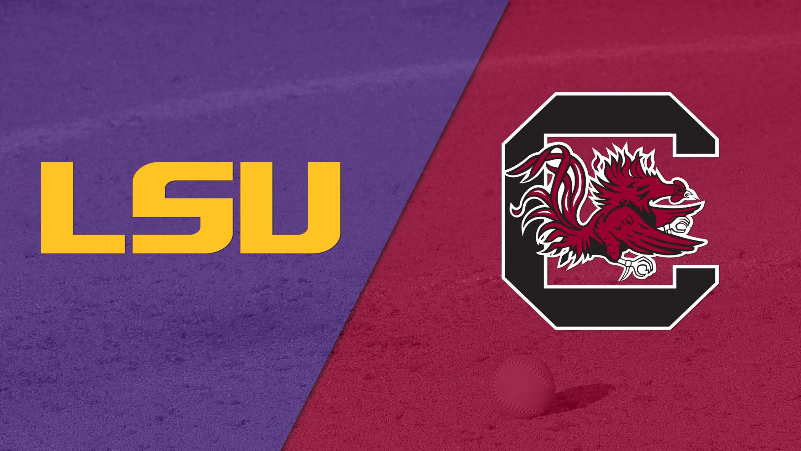 #19 LSU vs. South Carolina (Softball)