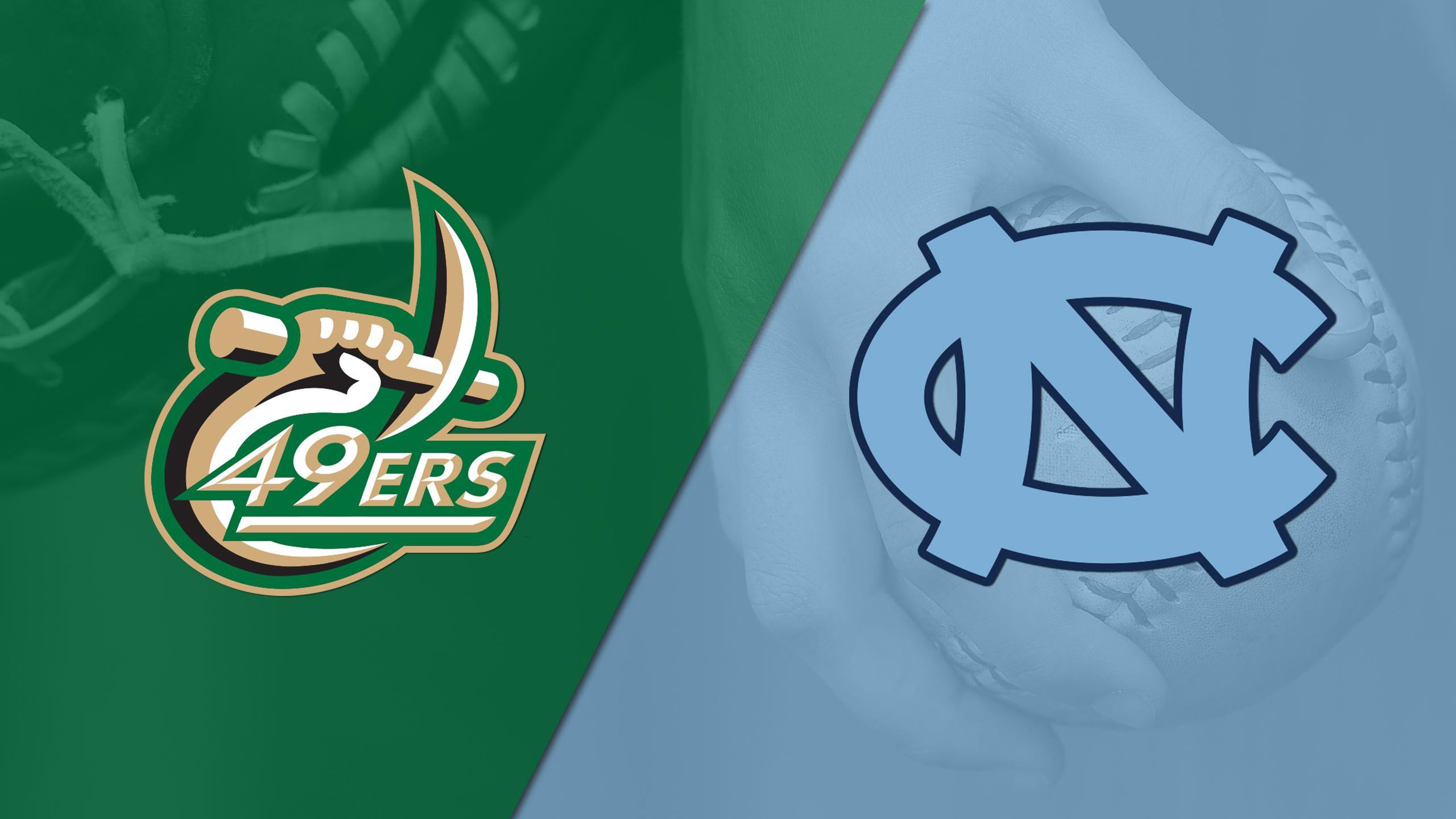 Charlotte vs. North Carolina (Softball)