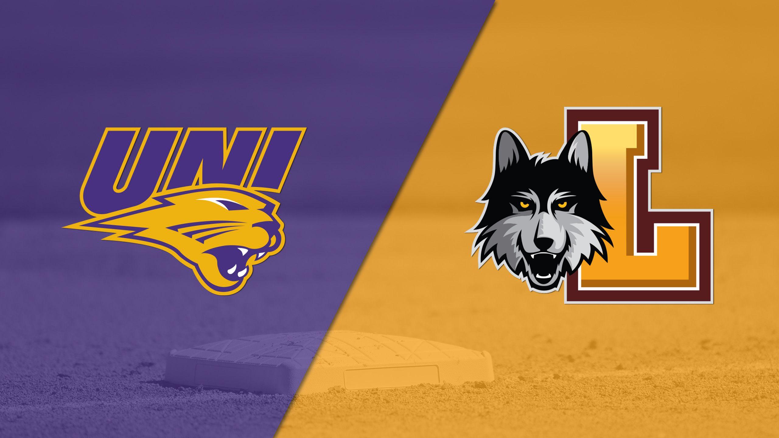 Northern Iowa vs. Loyola (IL) (Softball)