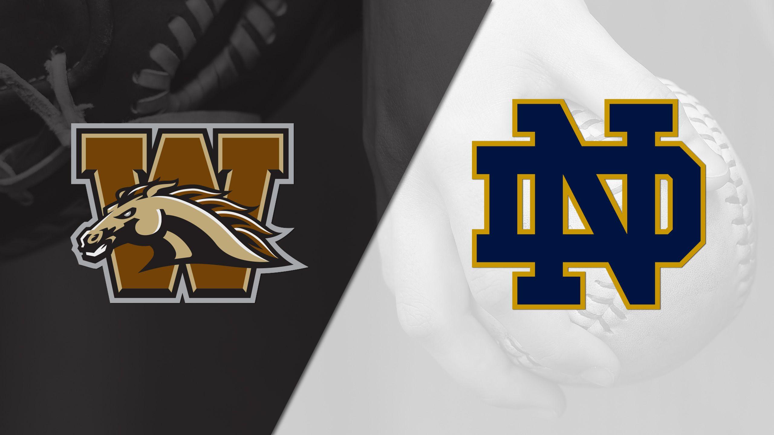 Western Michigan vs. Notre Dame (Softball)