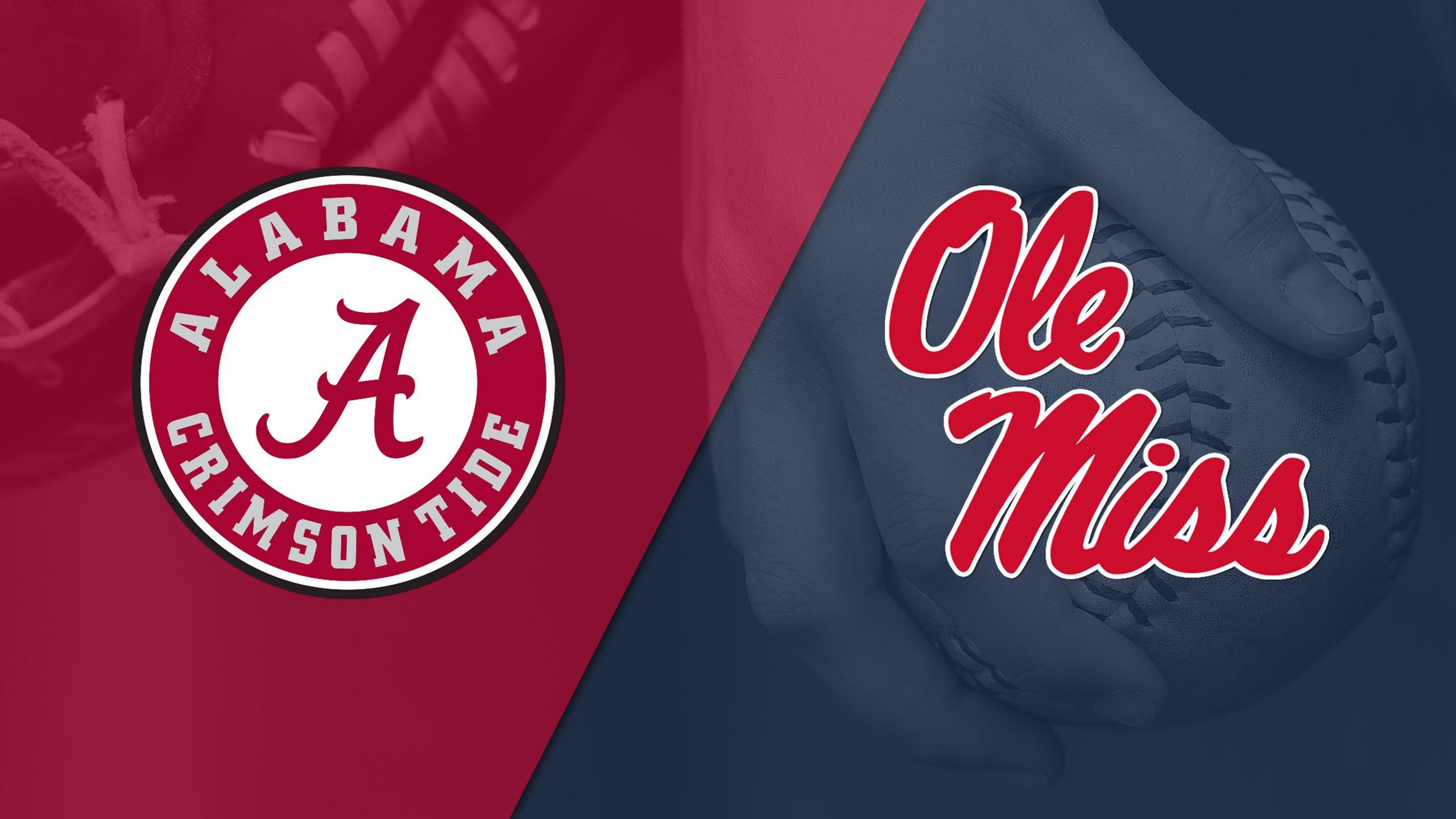 #14 Alabama vs. #21 Ole Miss (Softball)