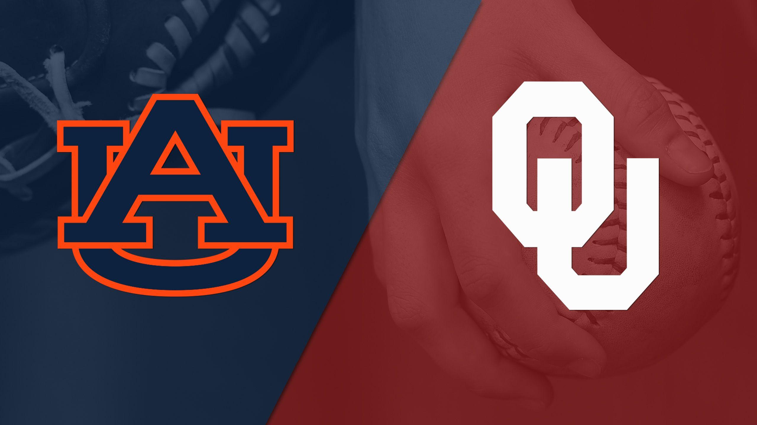 #7 Auburn vs. #10 Oklahoma (Site 3 / Game 2) (NCAA Softball Championship)