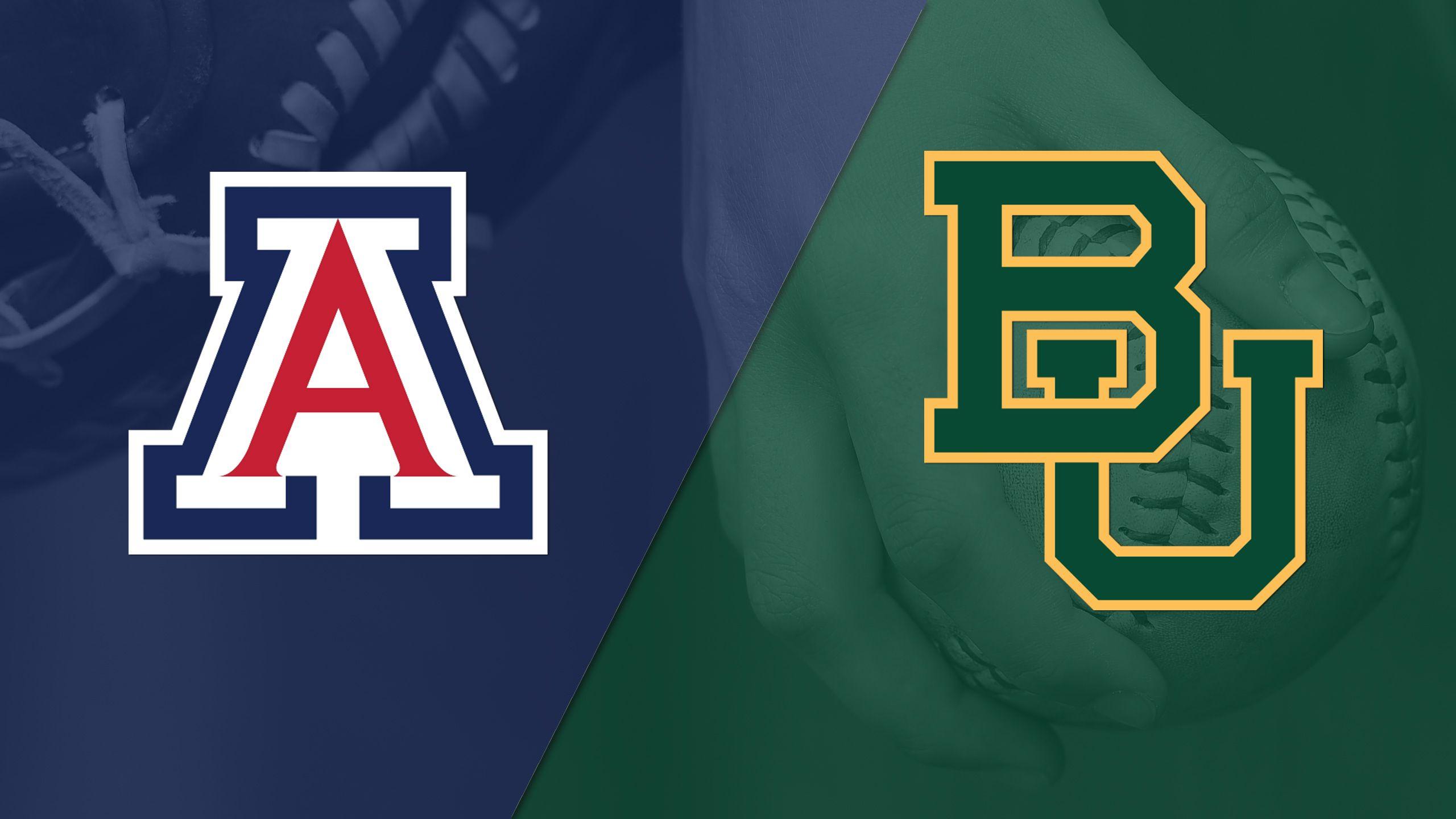 #2 Arizona vs. #15 Baylor (Site 7 / Game 2) (NCAA Softball Championship)