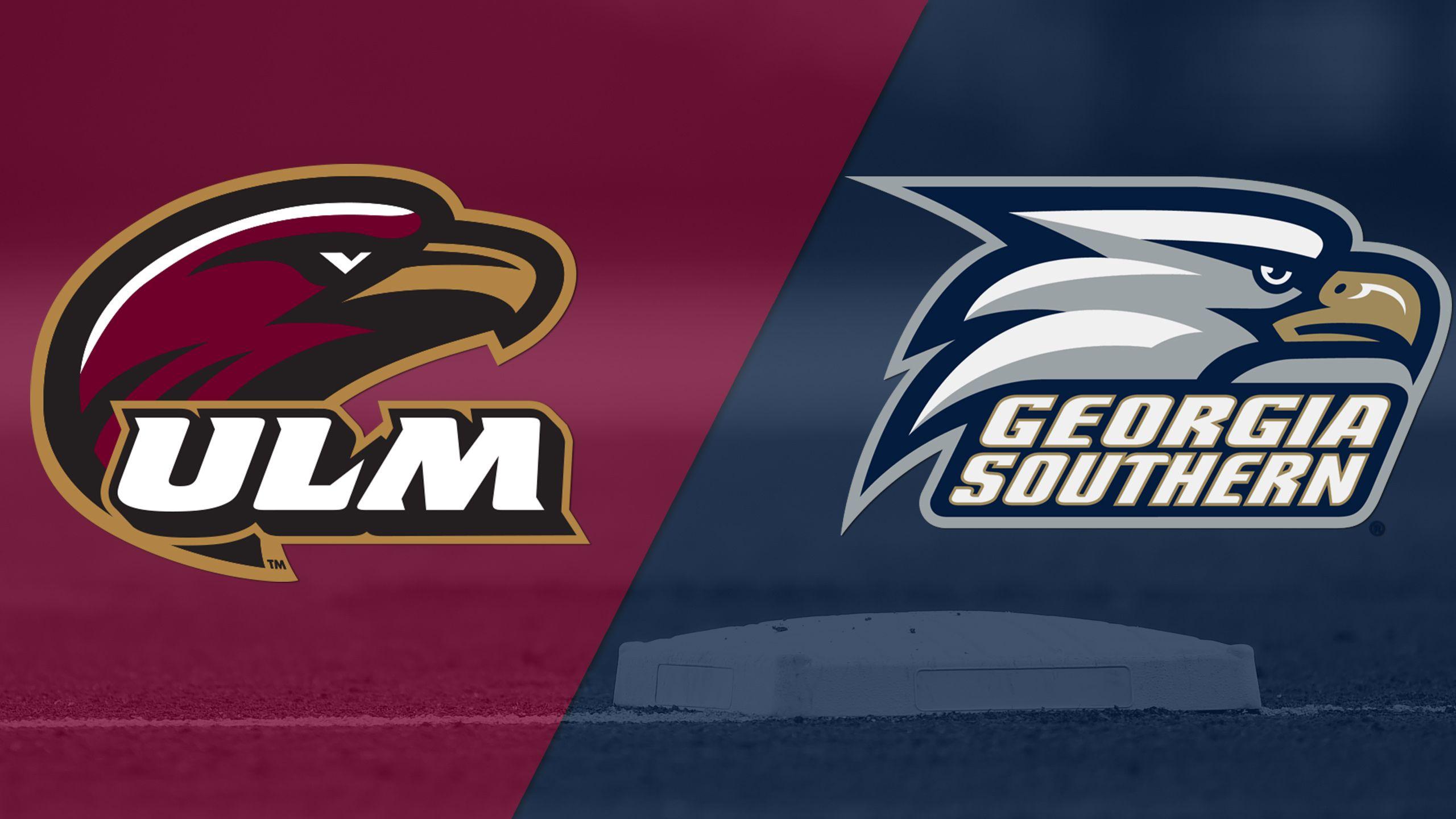 UL Monroe vs. Georgia Southern (Game #2) (Sun Belt Softball Championship)