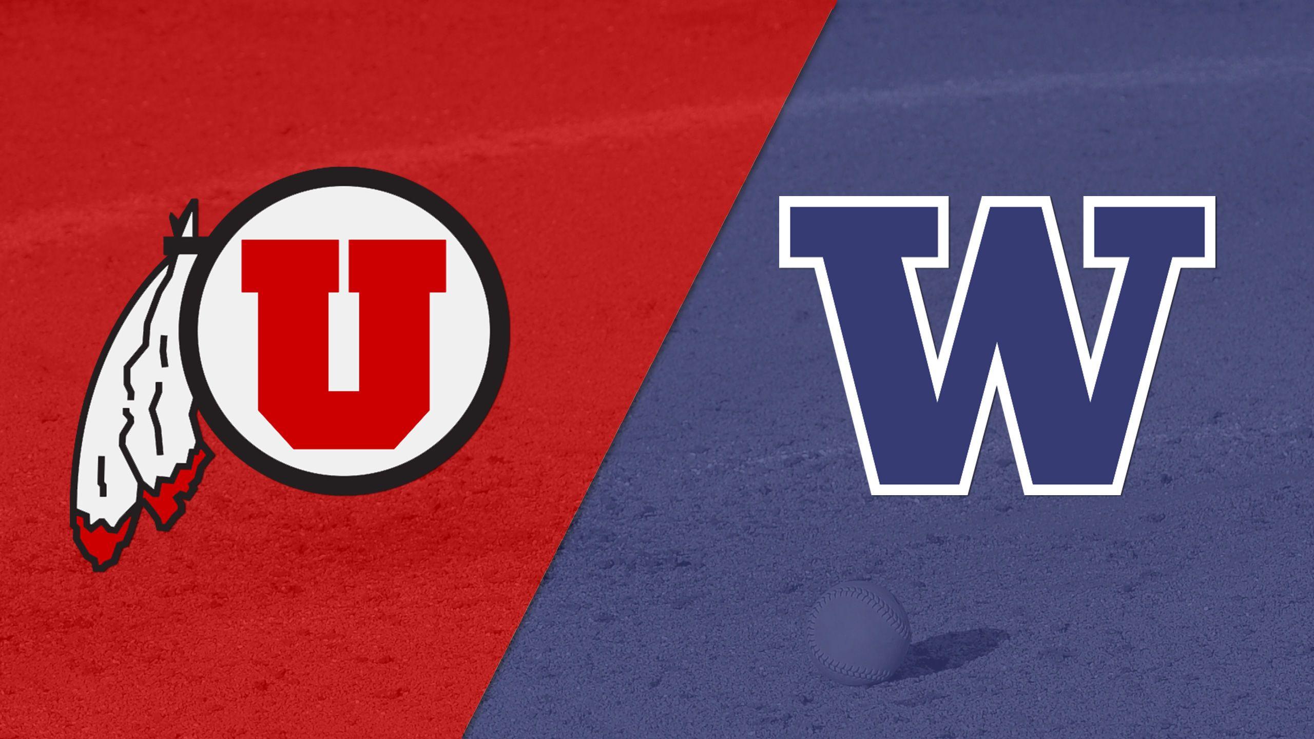 #11 Utah vs. #6 Washington (Site 8 / Game 1) (NCAA Softball Championship)