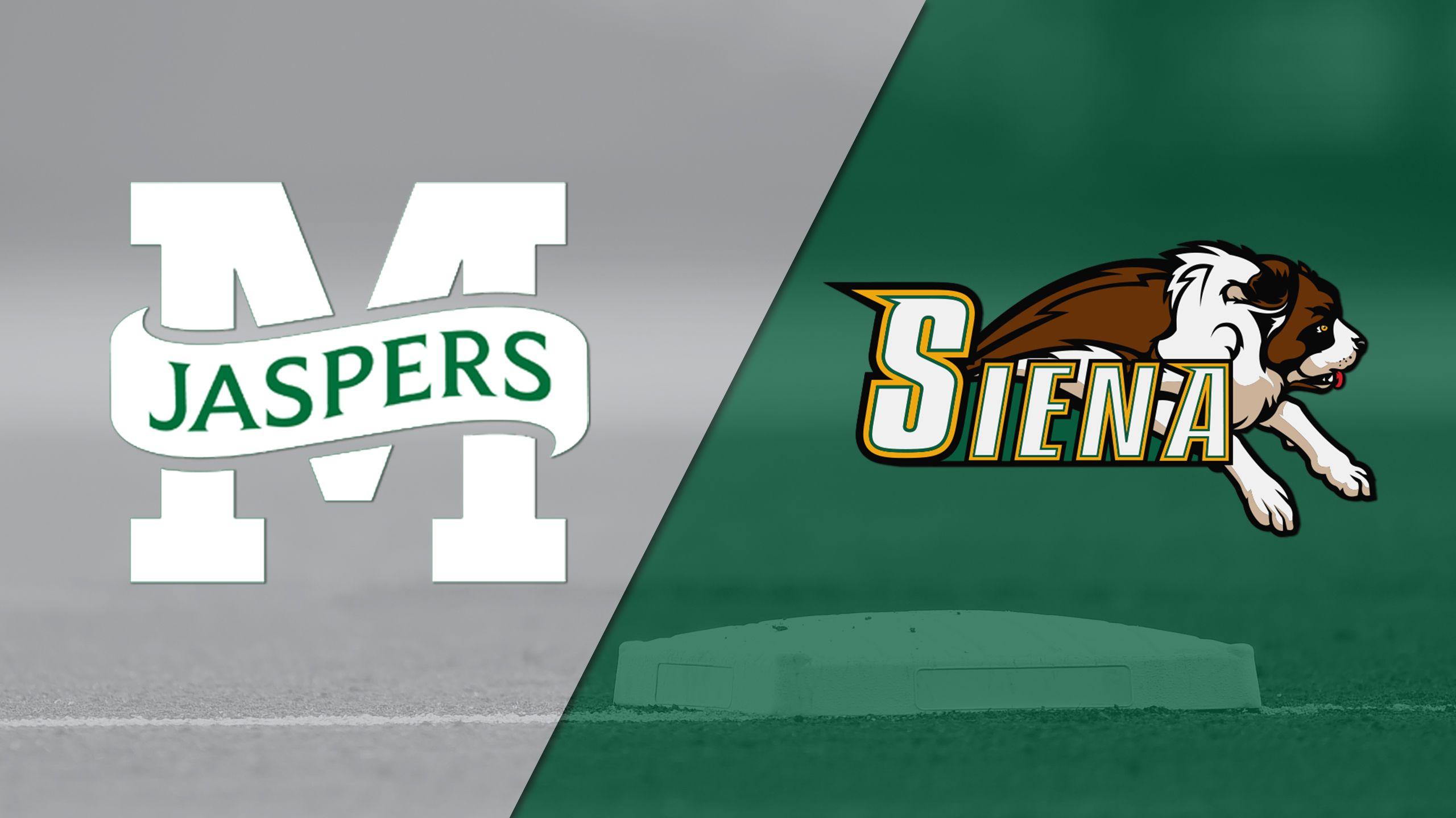 Manhattan vs. Siena (Game #5) (MAAC Softball Championship)