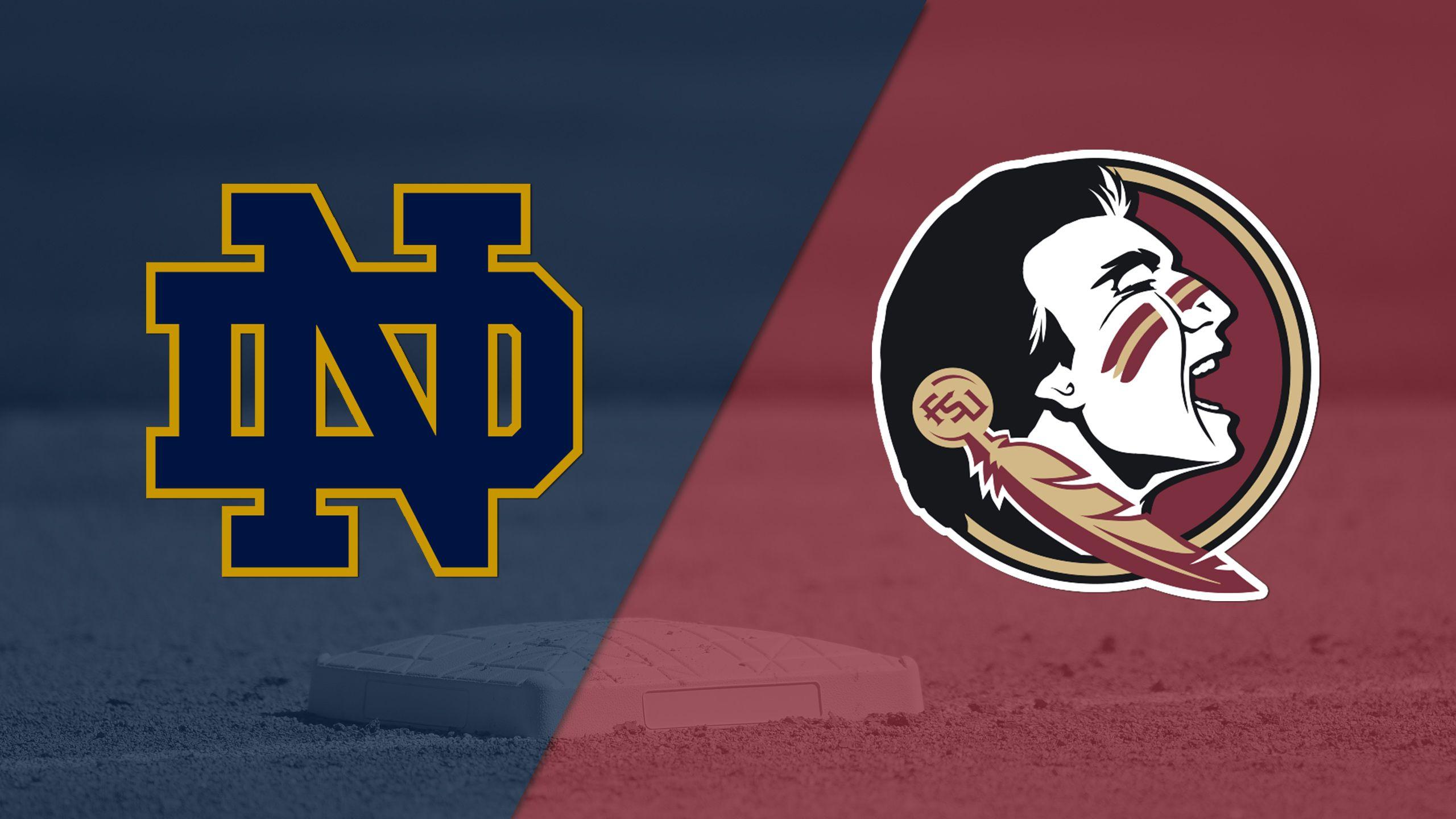 Notre Dame vs. #4 Florida State (Semifinal) (ACC Softball Championship)