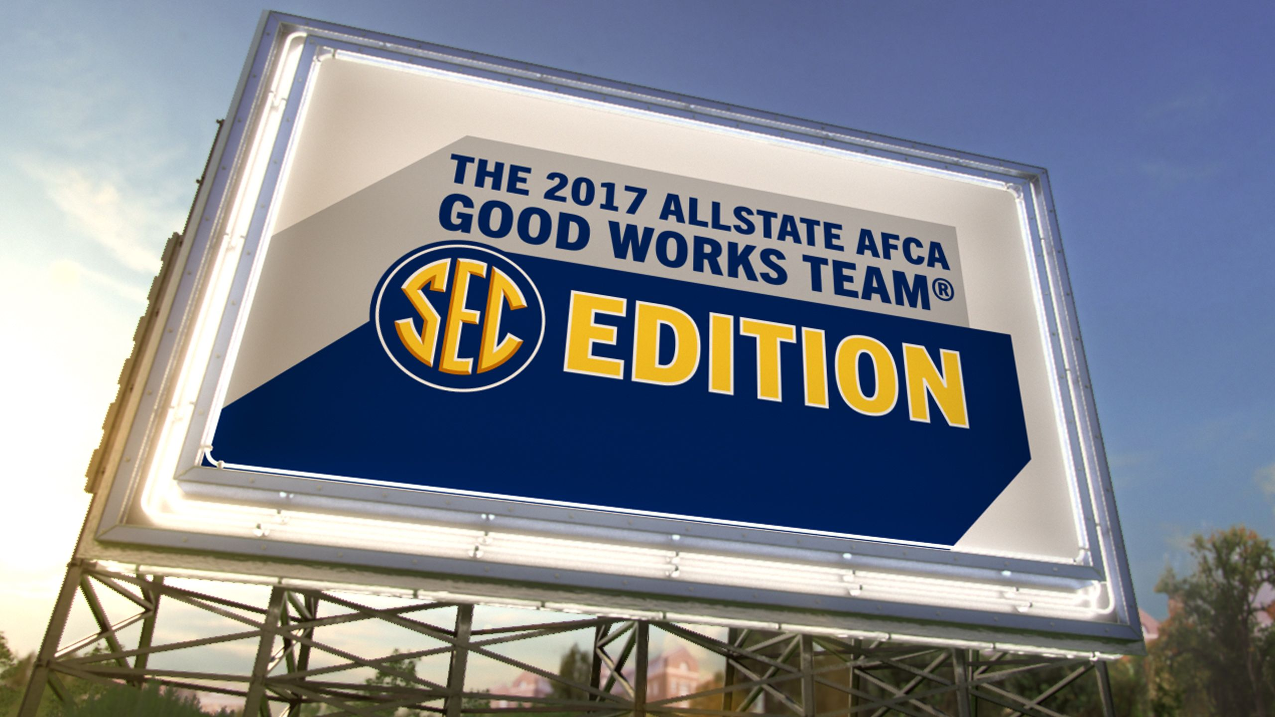 The AllState AFCA Good Works Team – SEC Edition