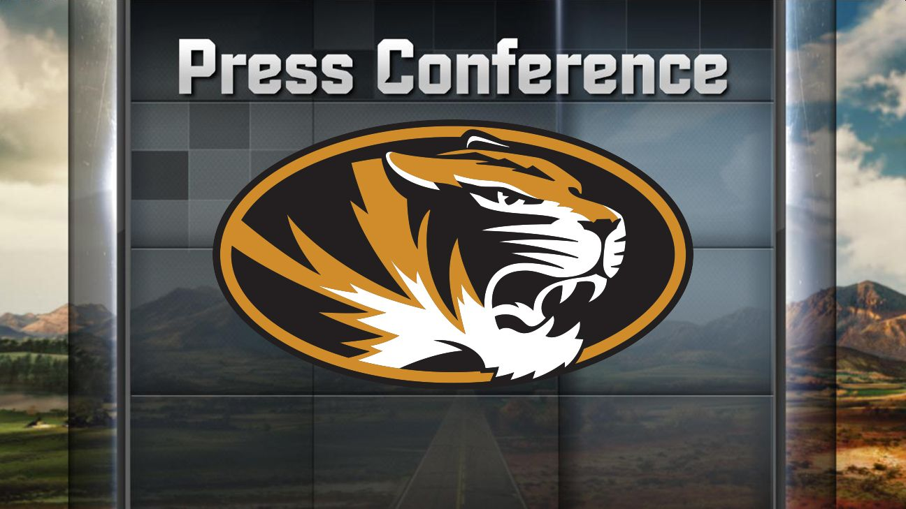 Missouri Football Weekly Press Conferences