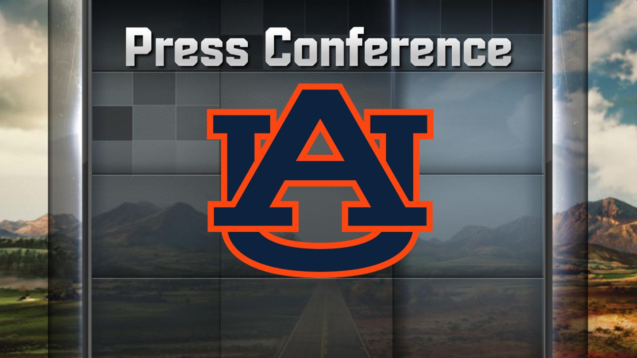 Auburn Football Weekly Press Conference