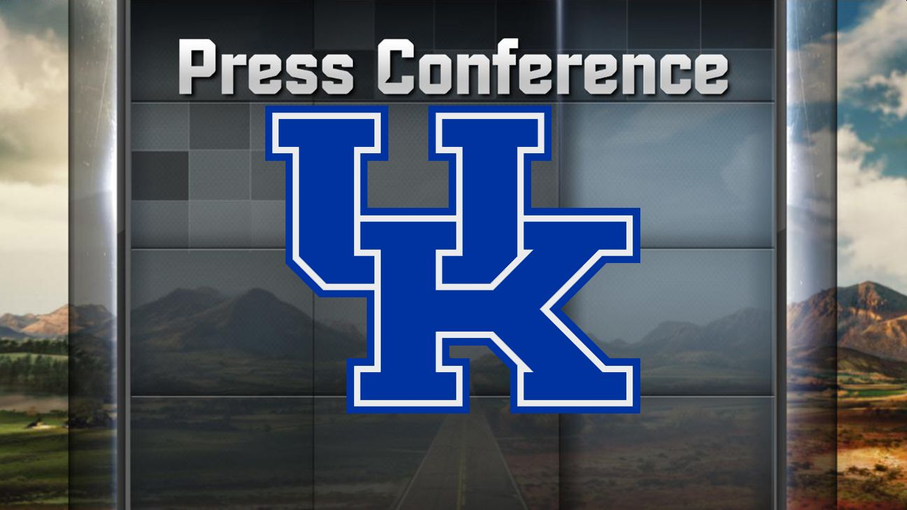 Kentucky Football Weekly Press Conference