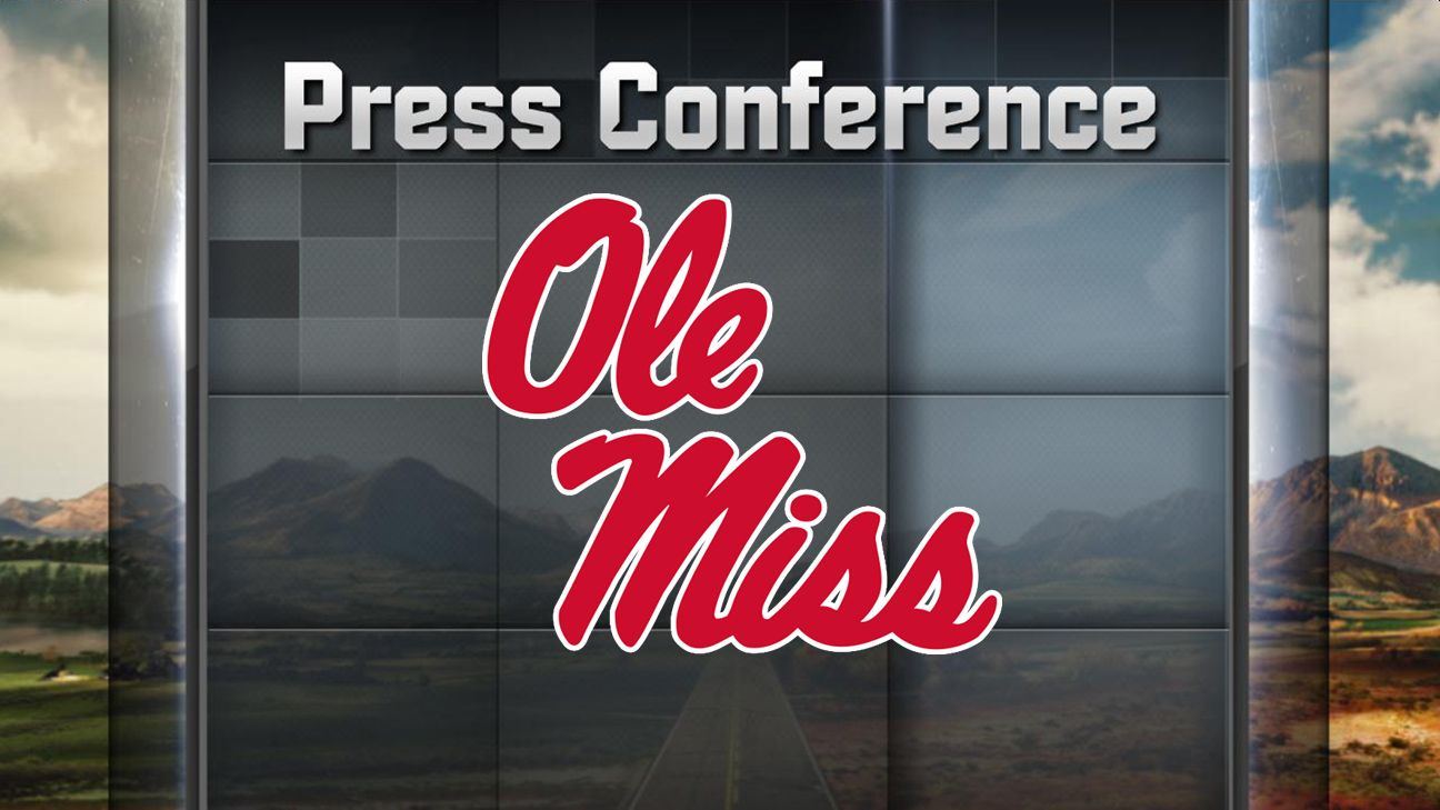 Ole Miss Football Weekly Press Conference