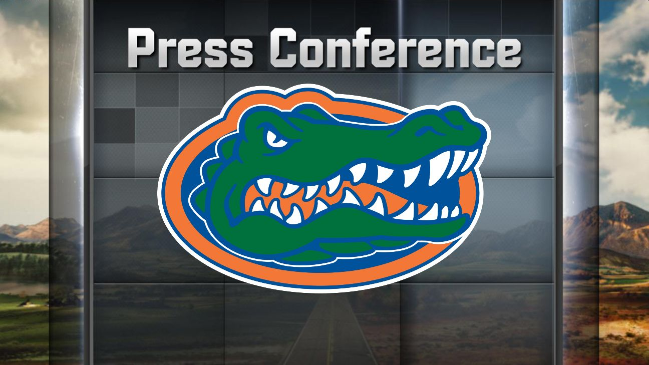Florida Football Weekly Press Conference