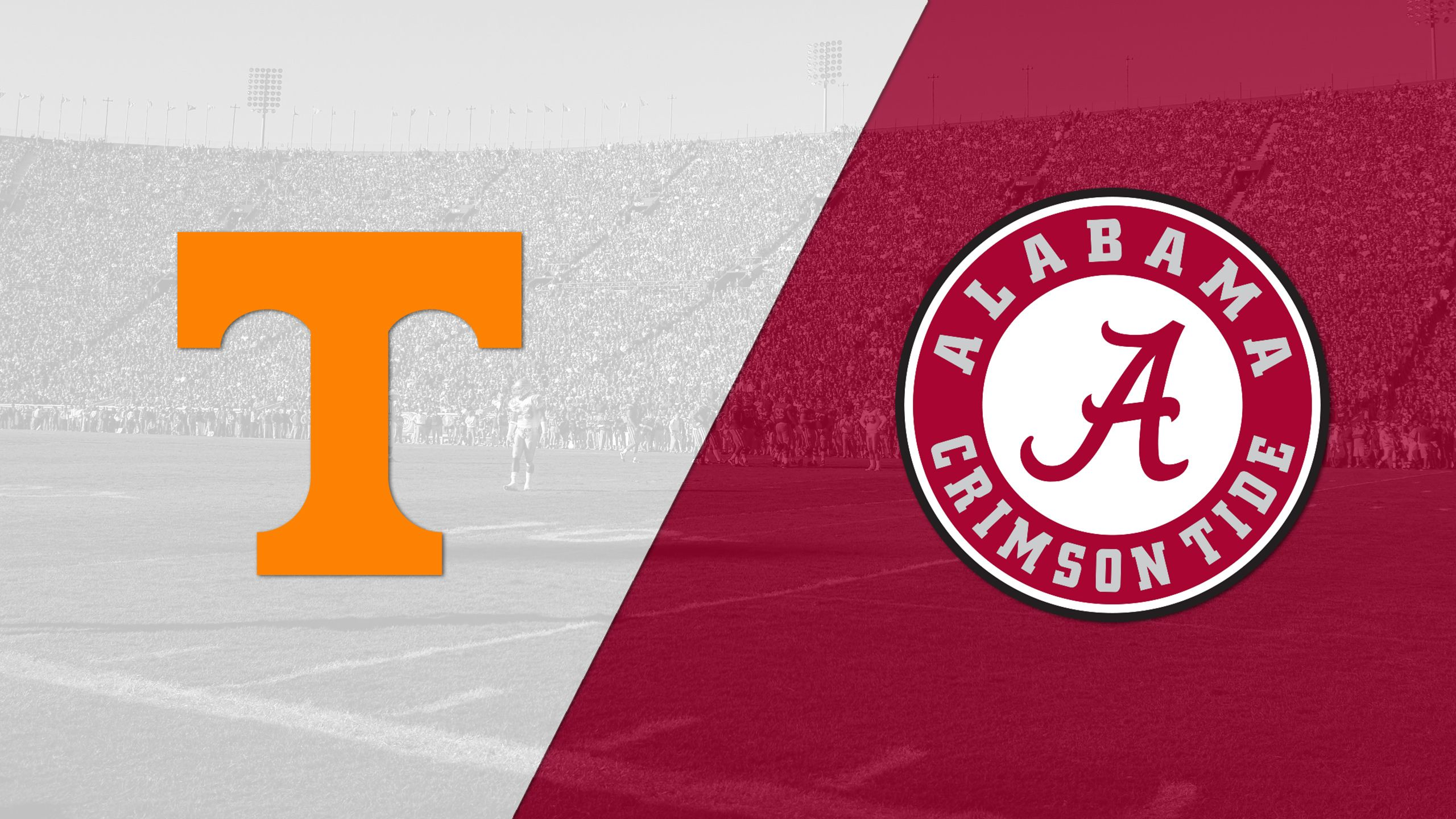 Tennessee vs. Alabama (Football) (re-air)