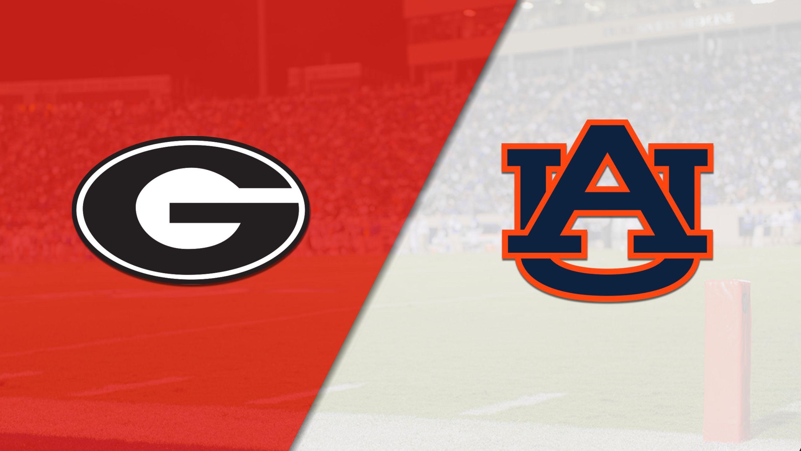 #6 Georgia vs. #2 Auburn (SEC Football Championship) (re-air)