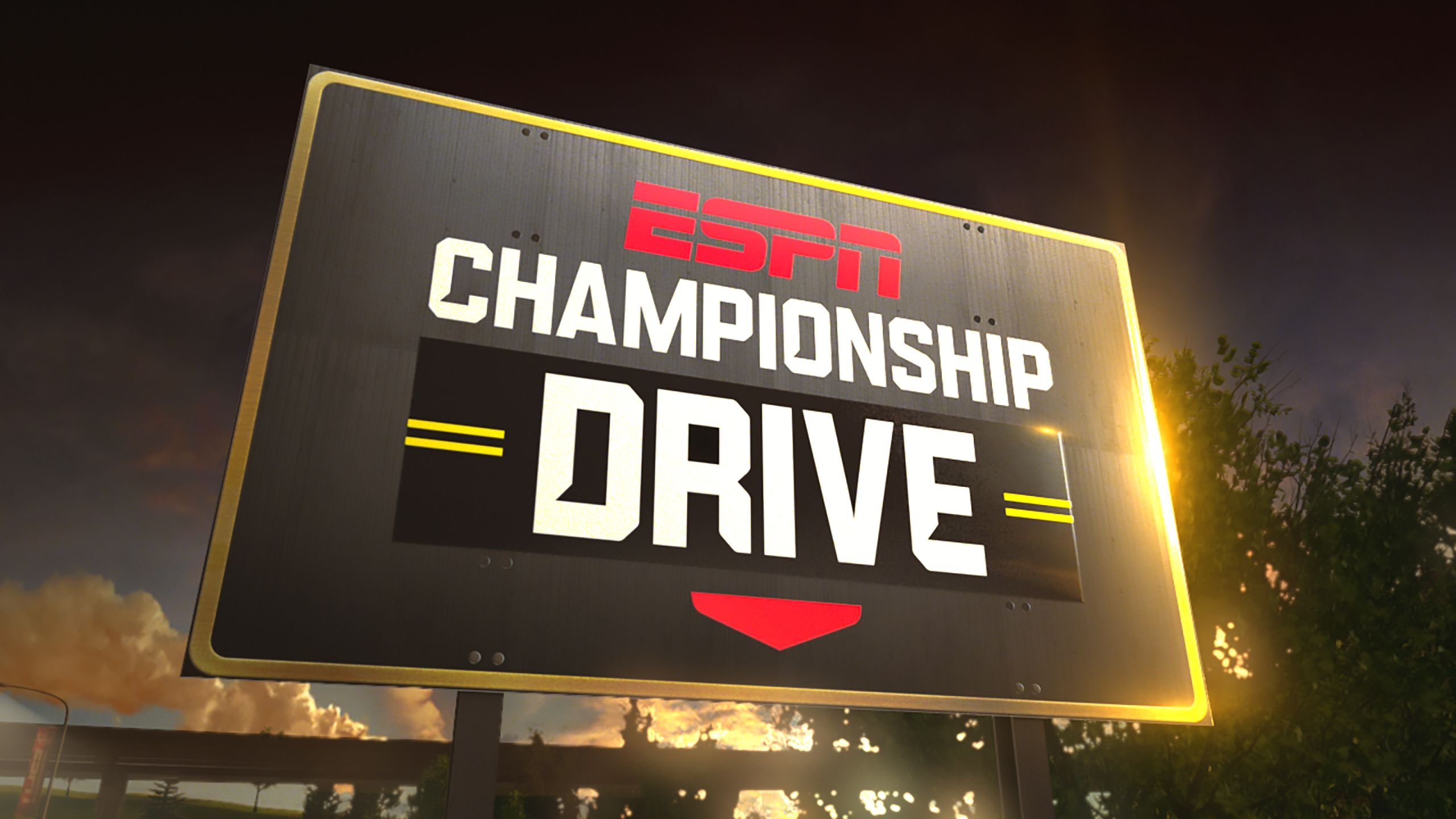 Sun, 10/22 - Championship Drive: Who's In? Presented by Chick-fil-A