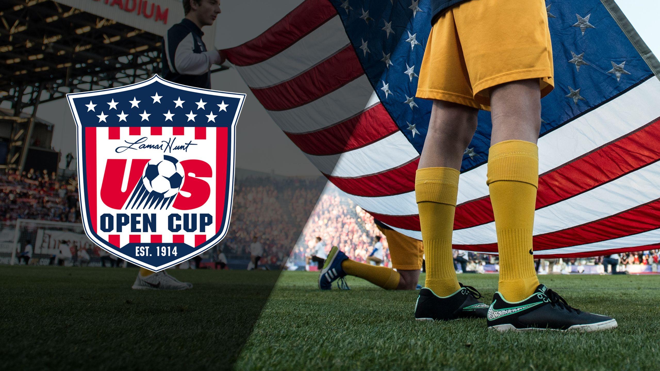 U.S. Open Cup Trophy Ceremony