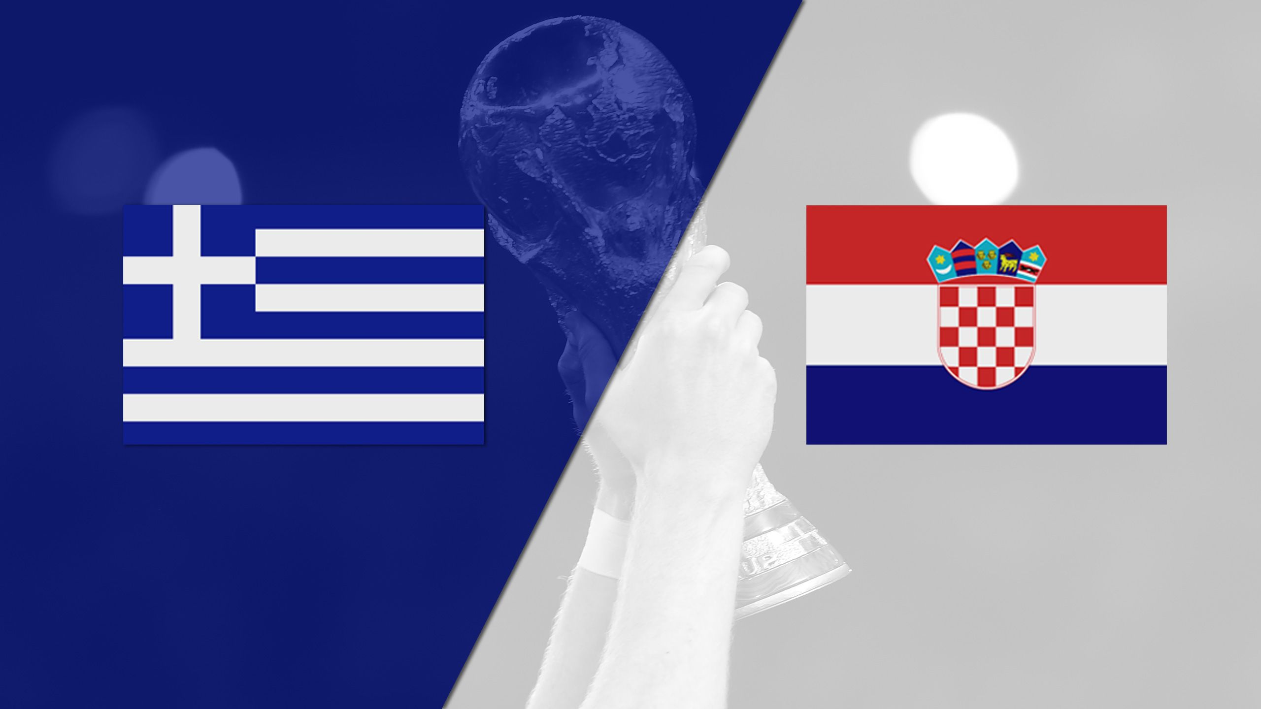 Greece vs. Croatia (Playoff) (2018 FIFA World Cup Qualifier) (re-air)