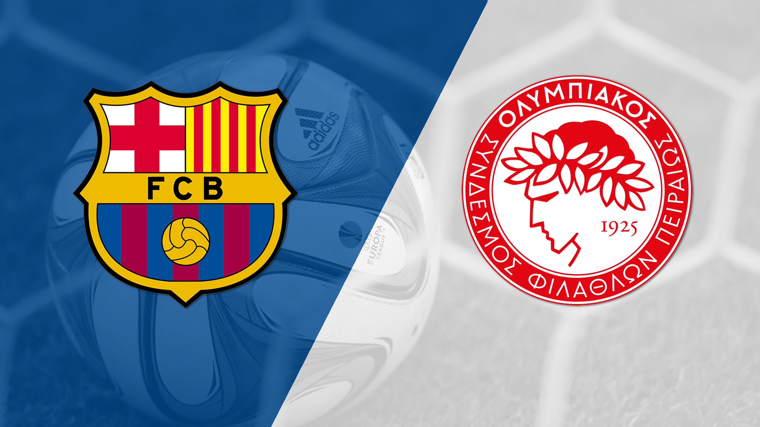 In Spanish - Barcelona vs. Olympiacos FC (Group Stage #3) (UEFA Champions League)