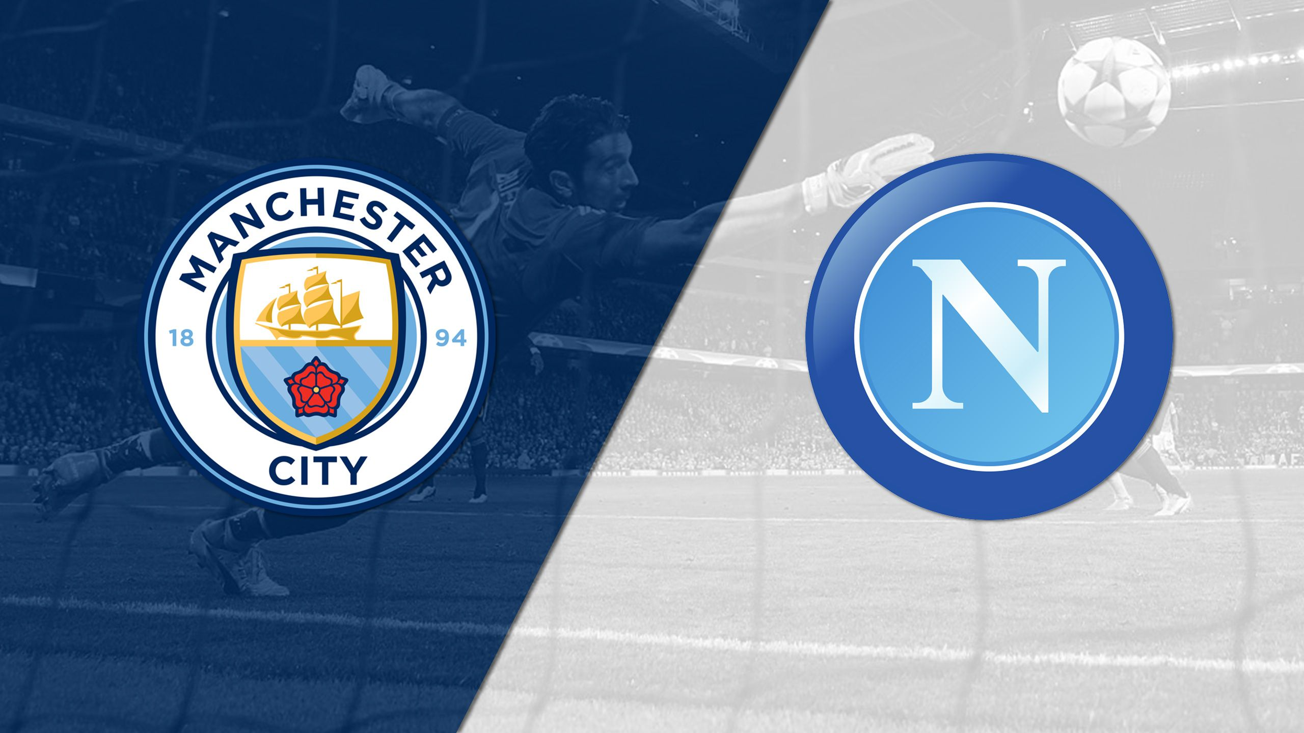 In Spanish - Manchester City vs. Napoli (Group Stage #3) (UEFA Champions League)