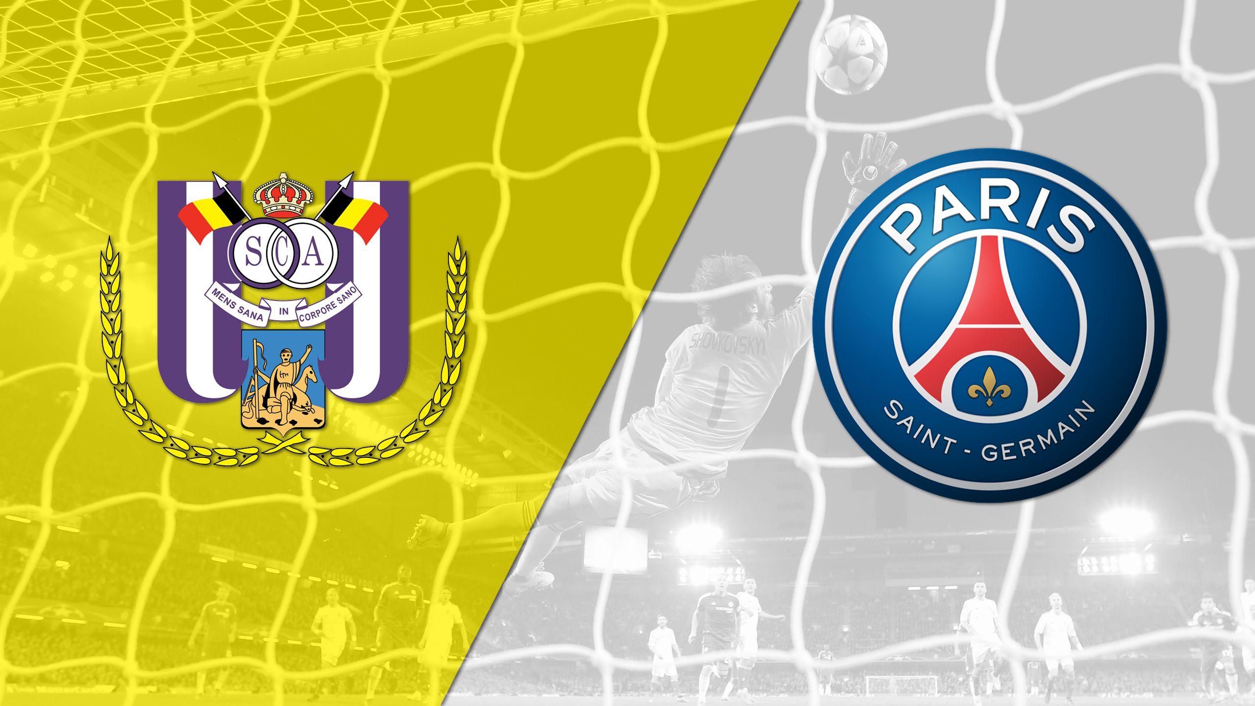 Anderlecht vs. Paris Saint-Germain (Group Stage #3) (UEFA Champions League)