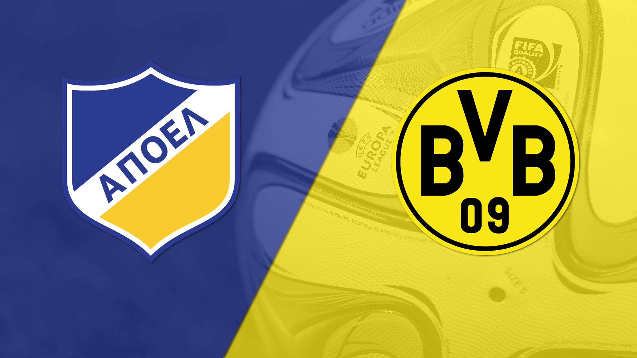 APOEL vs. Borussia Dortmund (Group Stage #3) (UEFA Champions League)