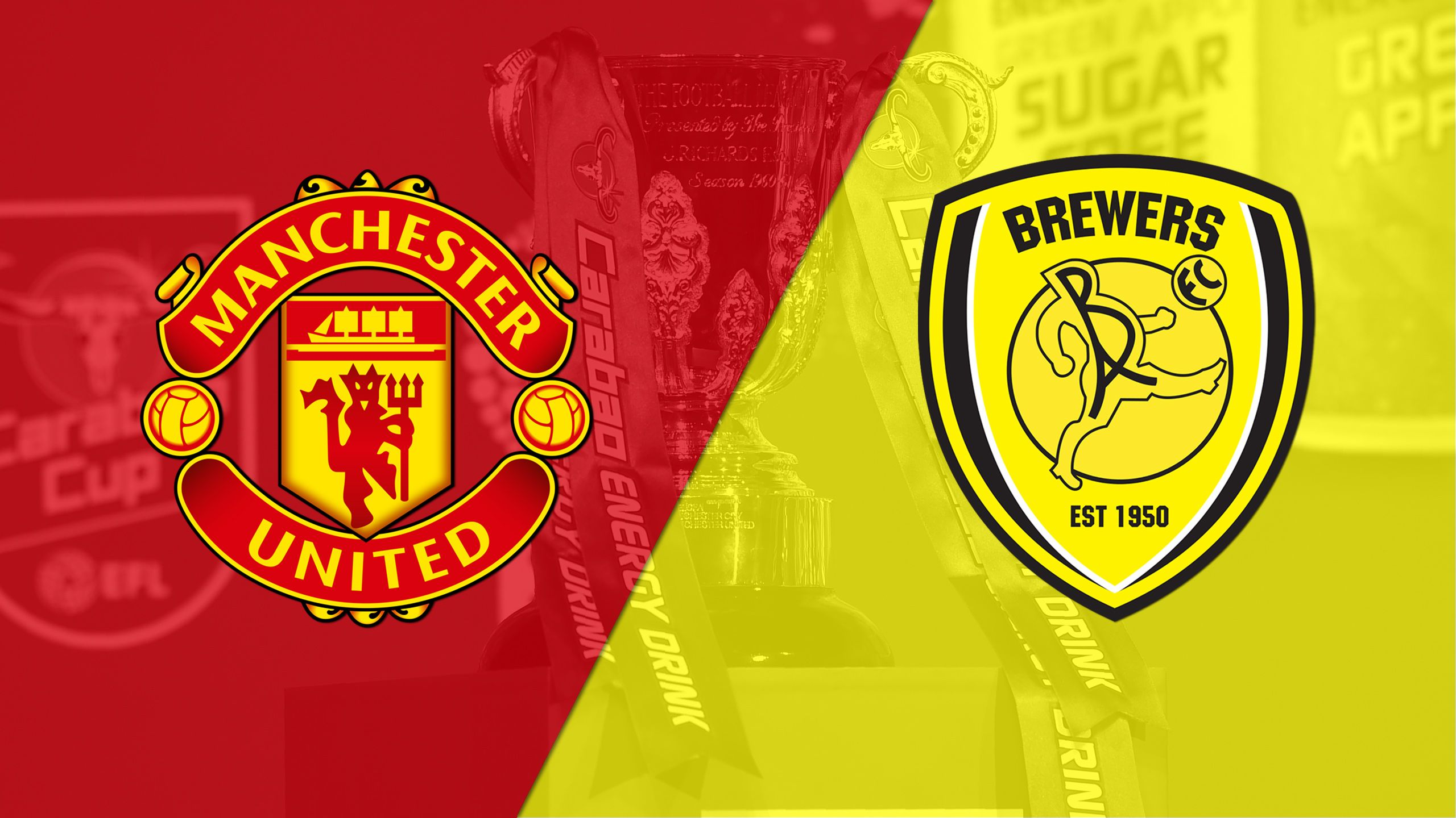Manchester United vs. Burton Albion (Round #3) (Carabao Cup)