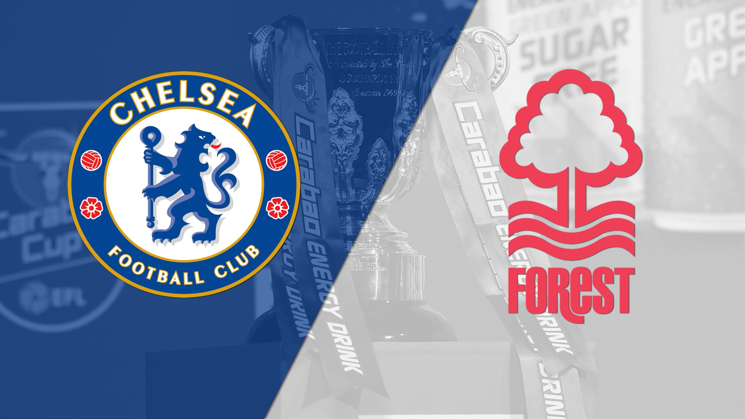Chelsea vs. Nottingham Forest (Round #3) (Carabao Cup)
