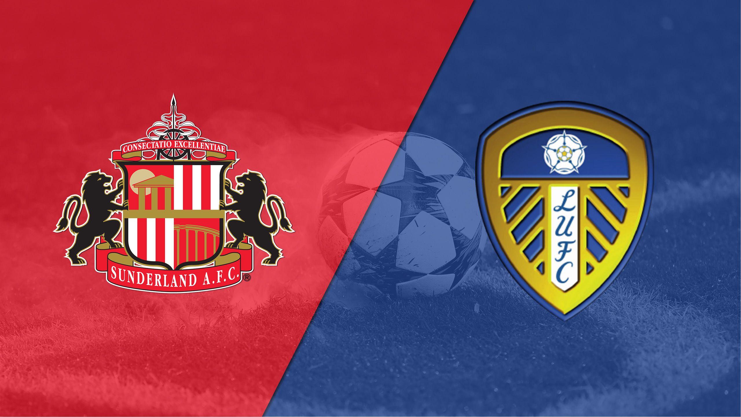 Sunderland vs. Leeds United (English League Championship)
