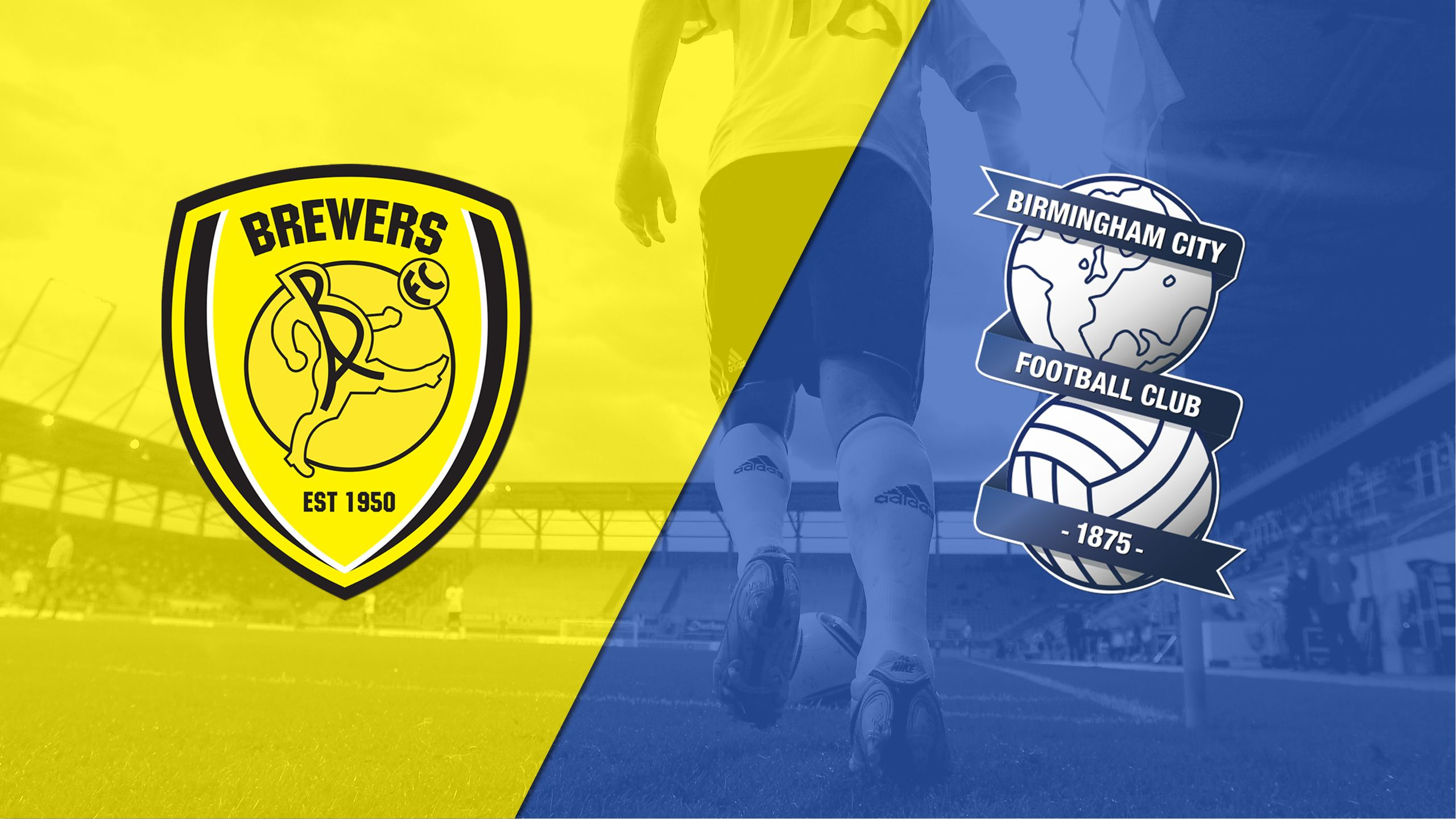 Burton Albion vs. Birmingham City (English League Championship)