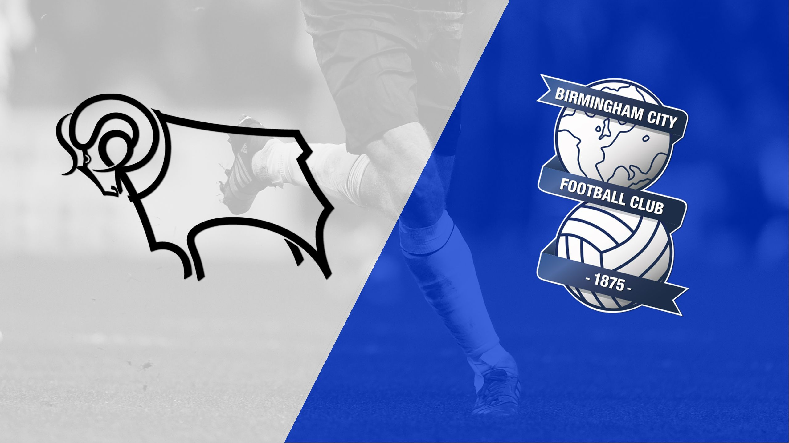 Derby County vs. Birmingham City (English League Championship)