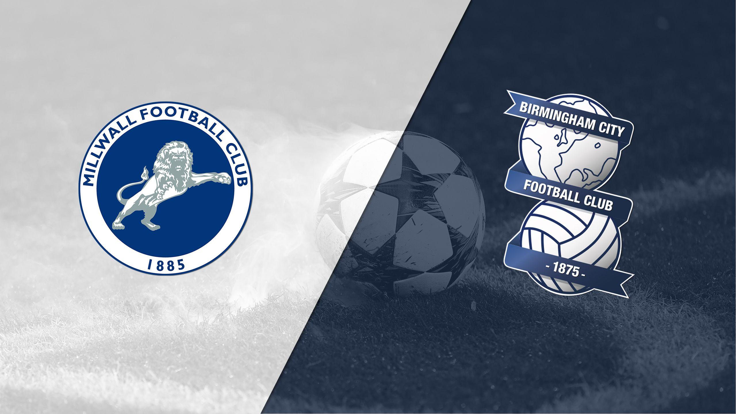 Millwall vs. Birmingham City (English League Championship)