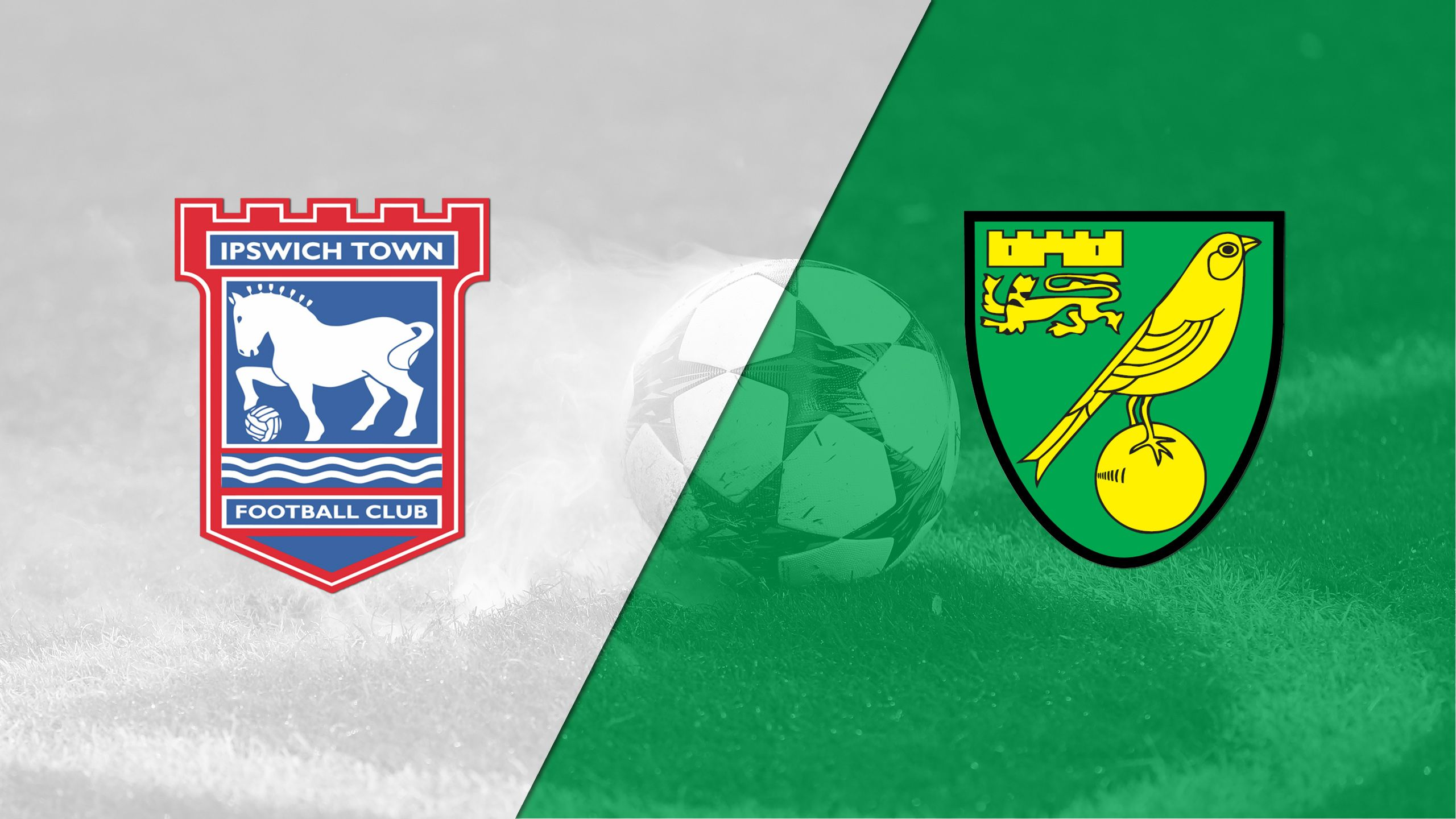 Ipswich Town vs. Norwich City (English League Championship)