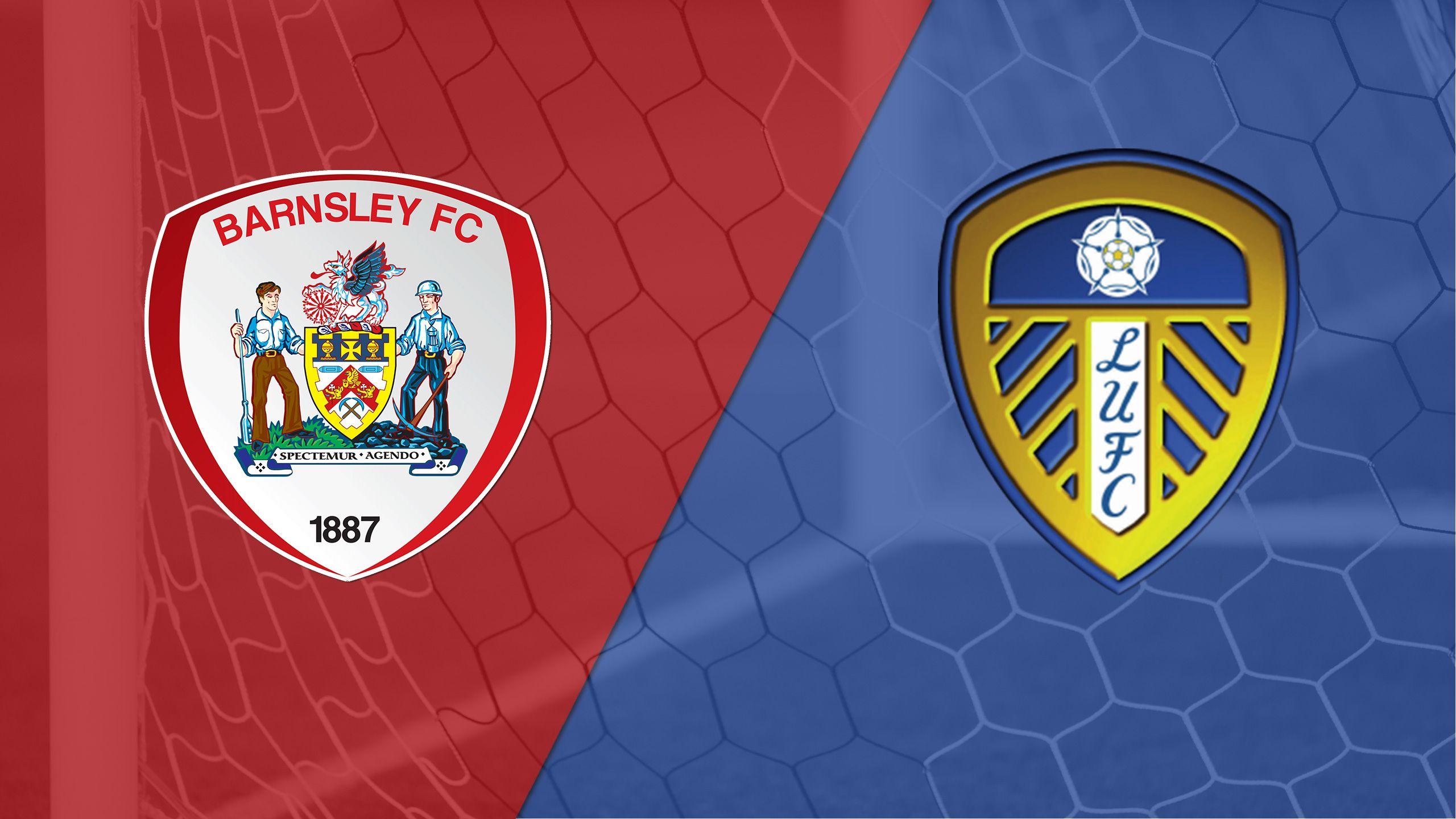 Barnsley vs. Leeds United (English League Championship)