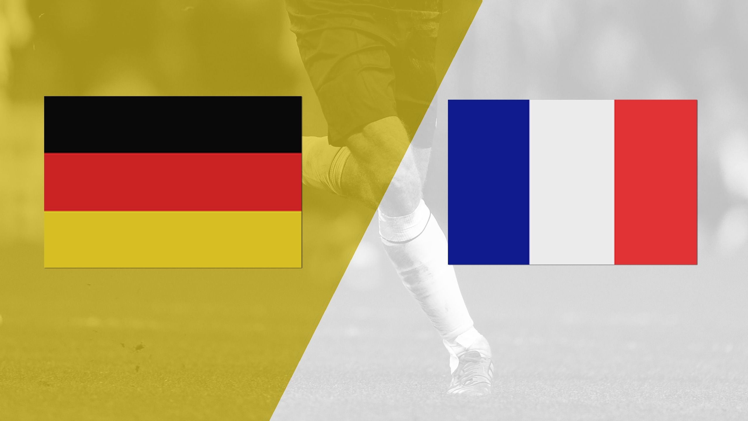 In Spanish - Germany vs. France (International Friendly) (re-air)
