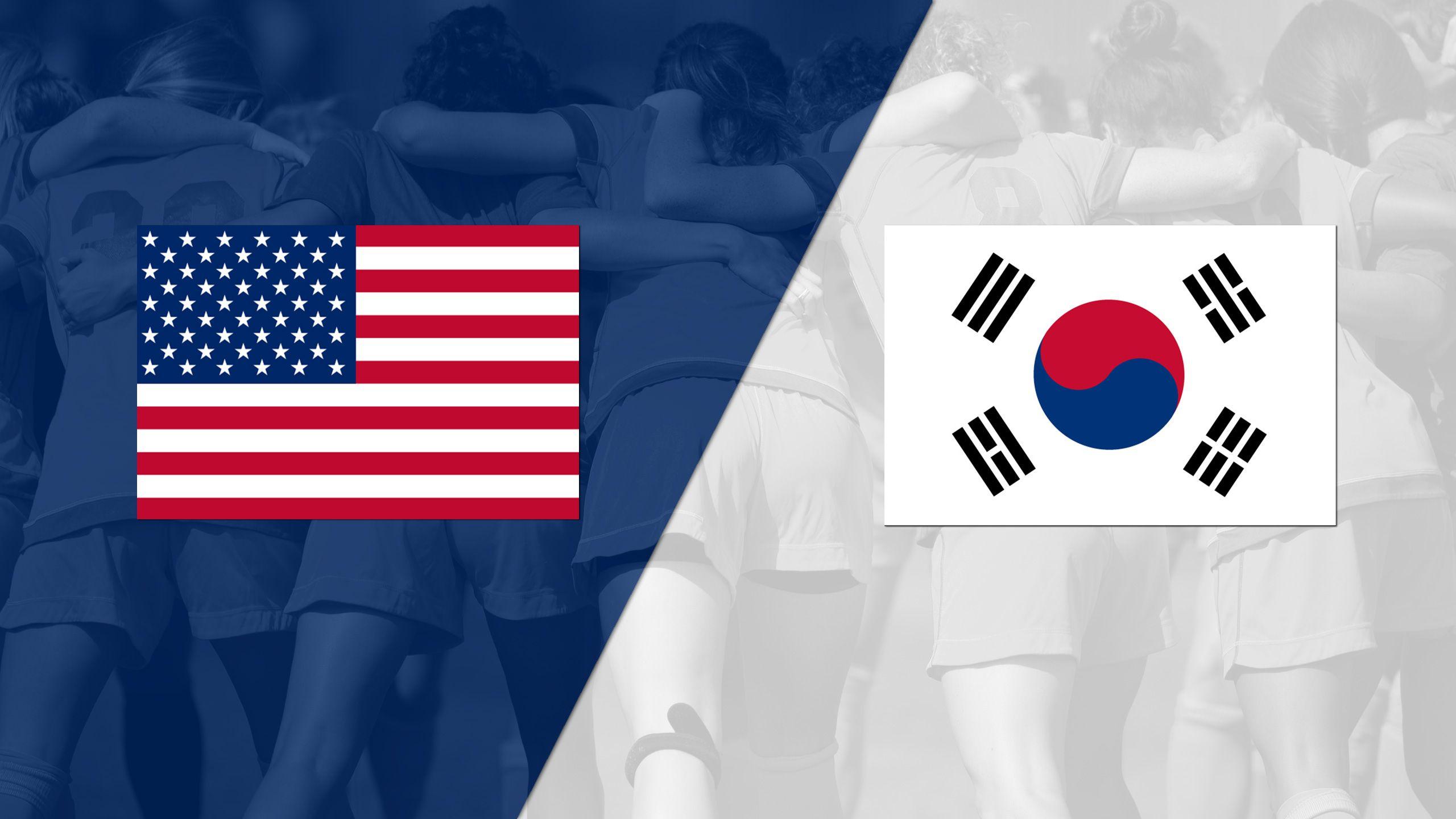 United States vs. Korea Republic (International Women's Friendly)