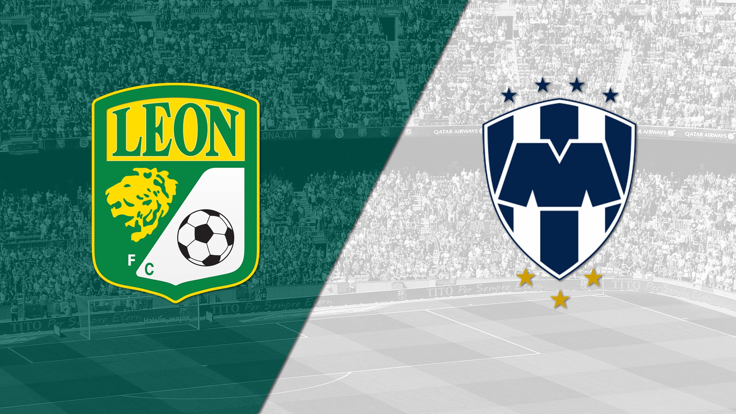 In Spanish - León vs. Monterrey (Matchday #5) (Liga MX)