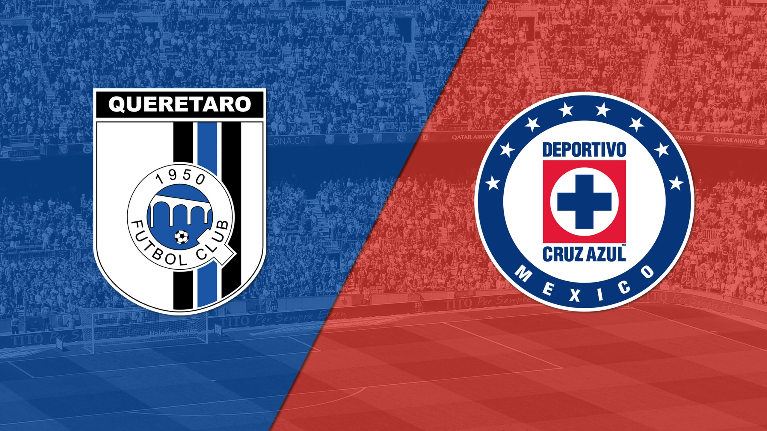 In Spanish - Queretaro vs. Cruz Azul (Matchday #10) (Liga MX)