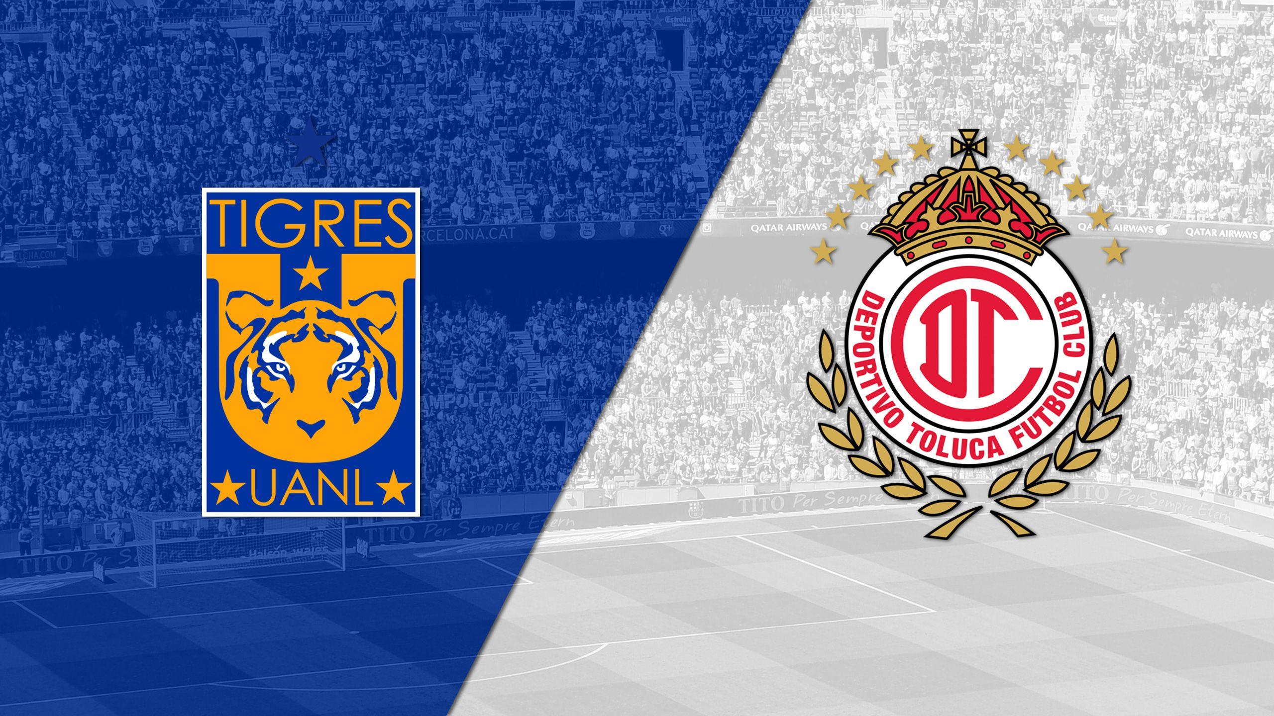 In Spanish - Tigres UANL vs. Toluca (Matchday #14) (Liga MX)