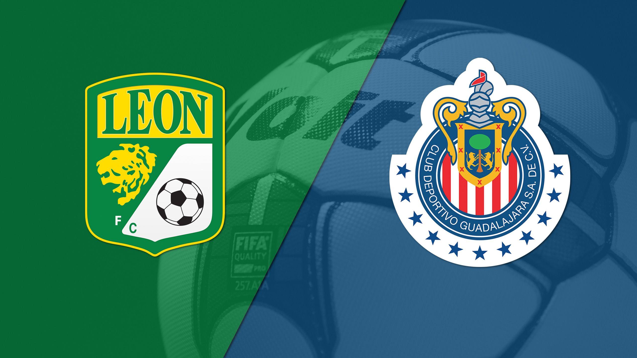 In Spanish - Leon vs. Chivas de Guadalajara (Matchday #17) (Liga MX)
