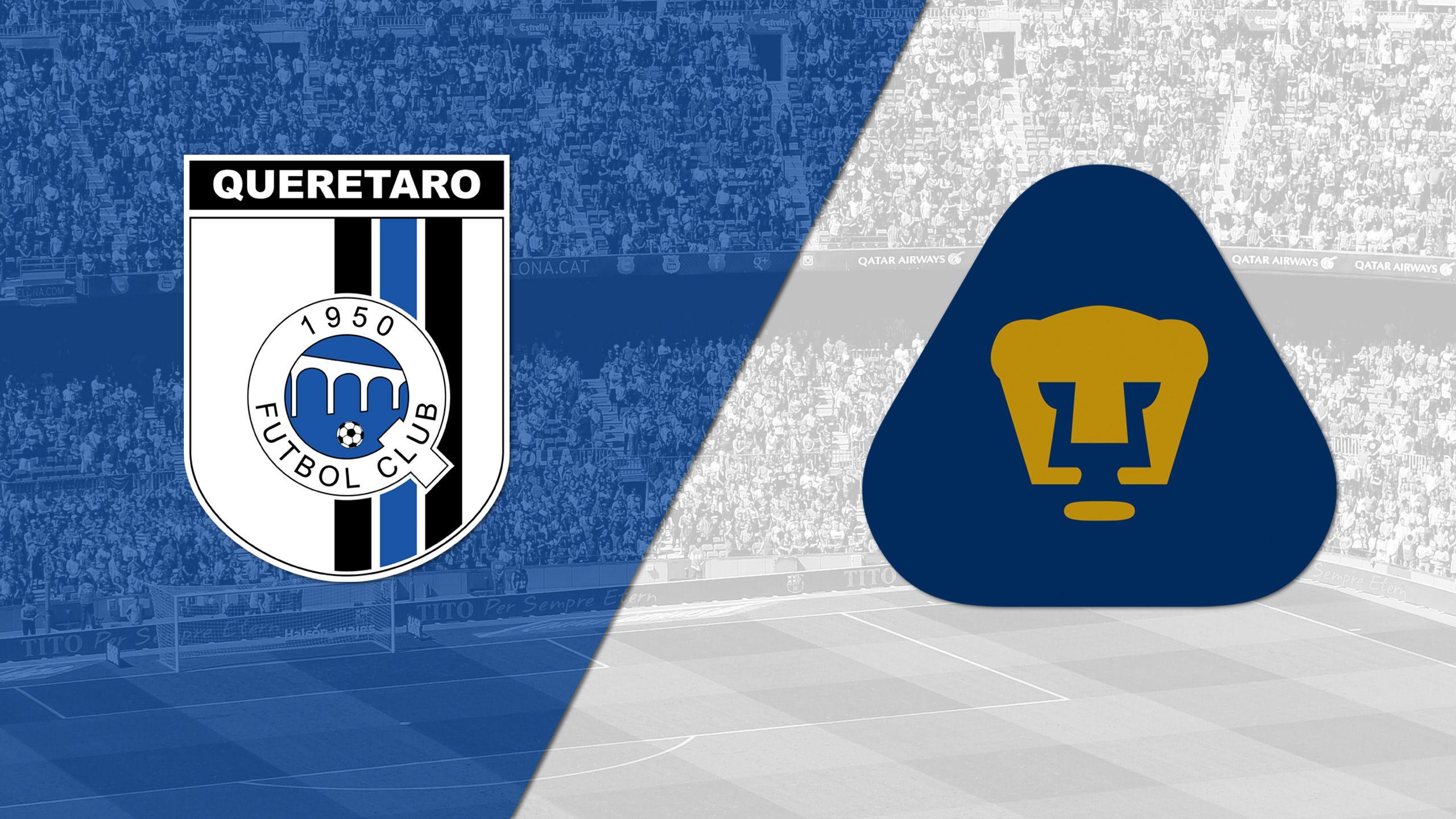 In Spanish - Querétaro vs. Pumas UNAM (Matchday #17) (Liga MX)
