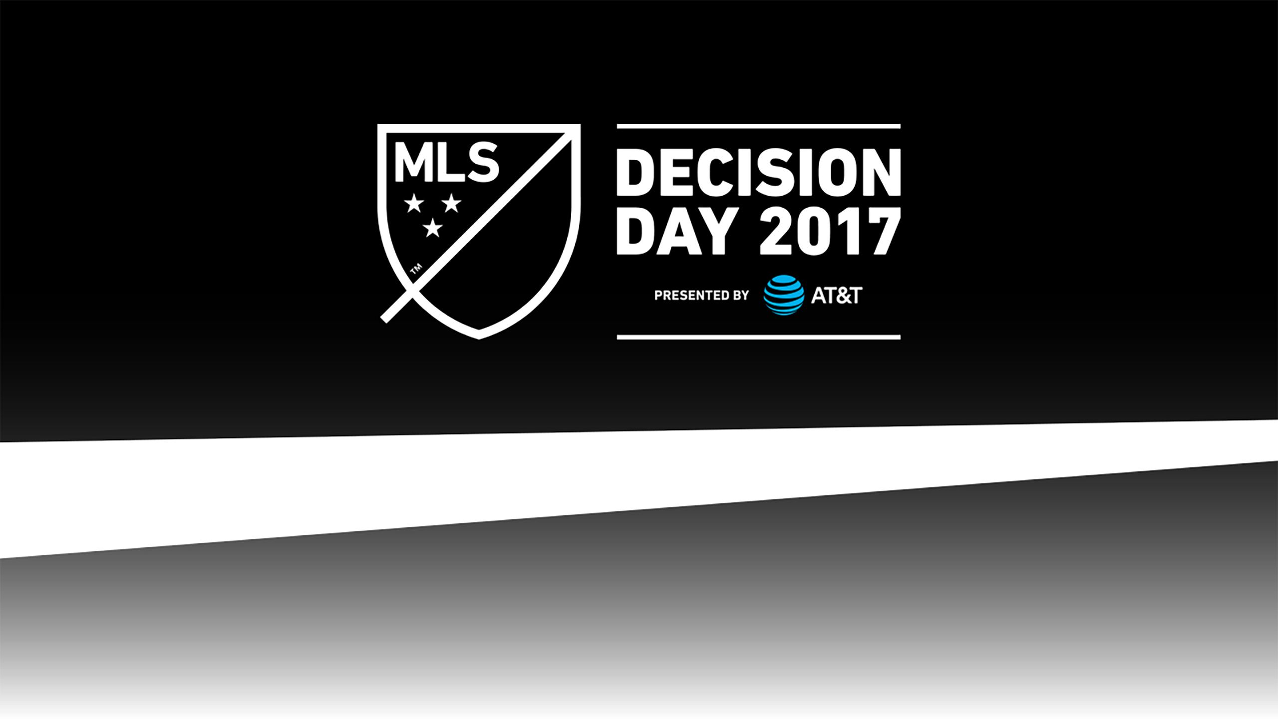 2017 MLS Decision Day Presented by AT&T: Major League Soccer presented by Audi