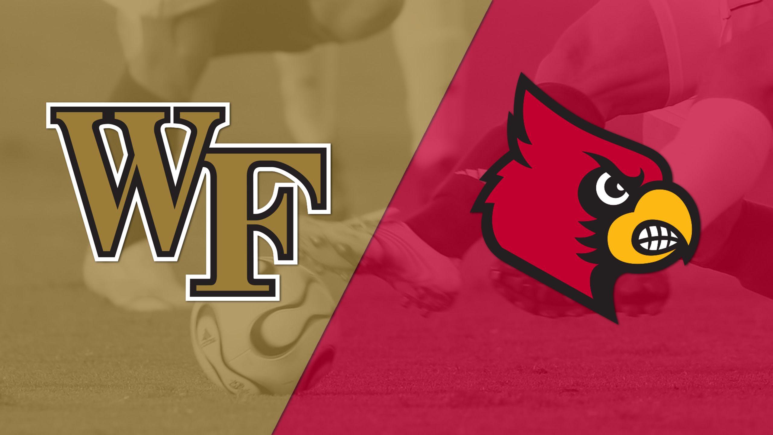 #2 Wake Forest vs. #8 Louisville (M Soccer)