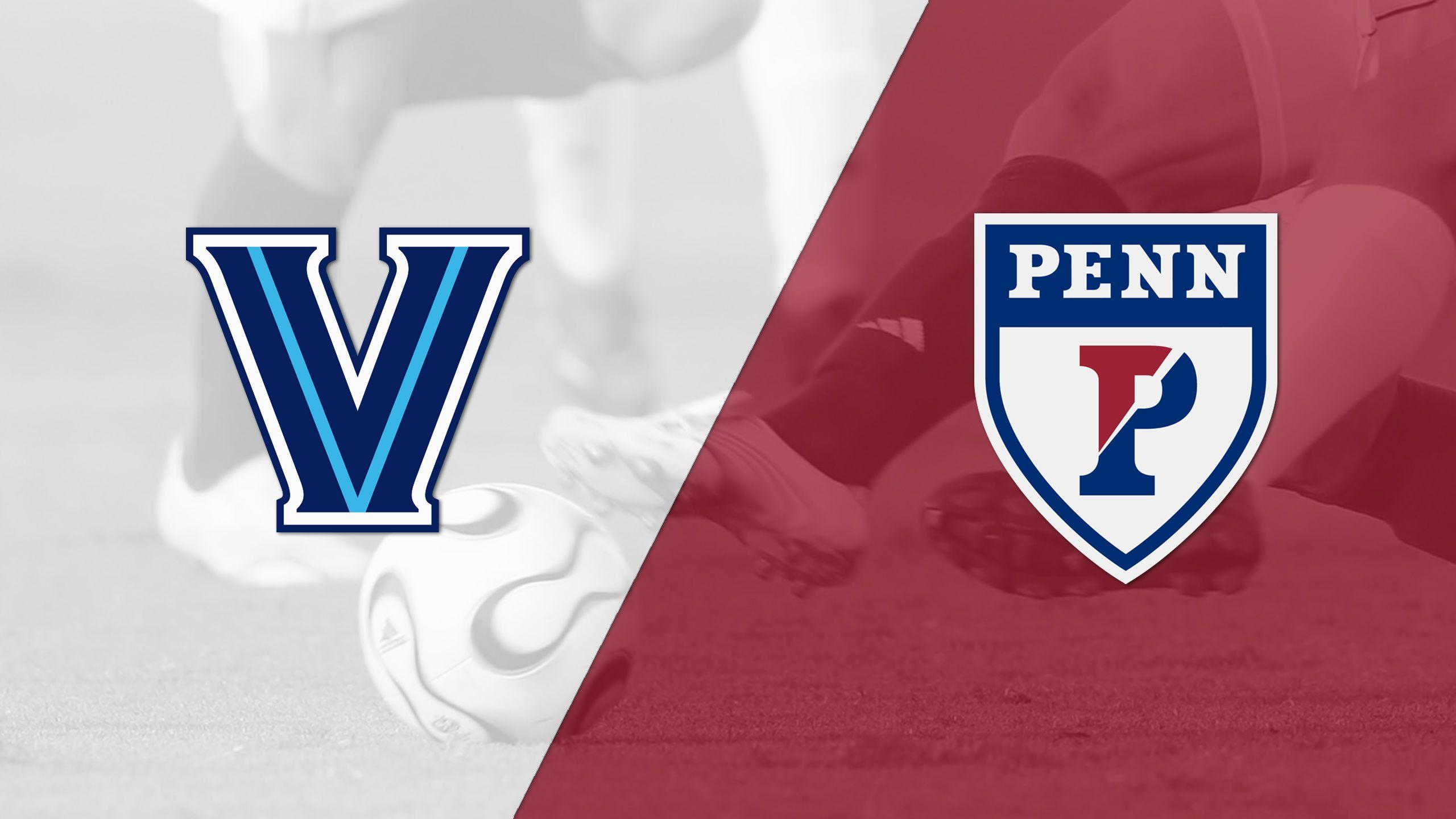 Villanova vs. Pennsylvania (M Soccer)